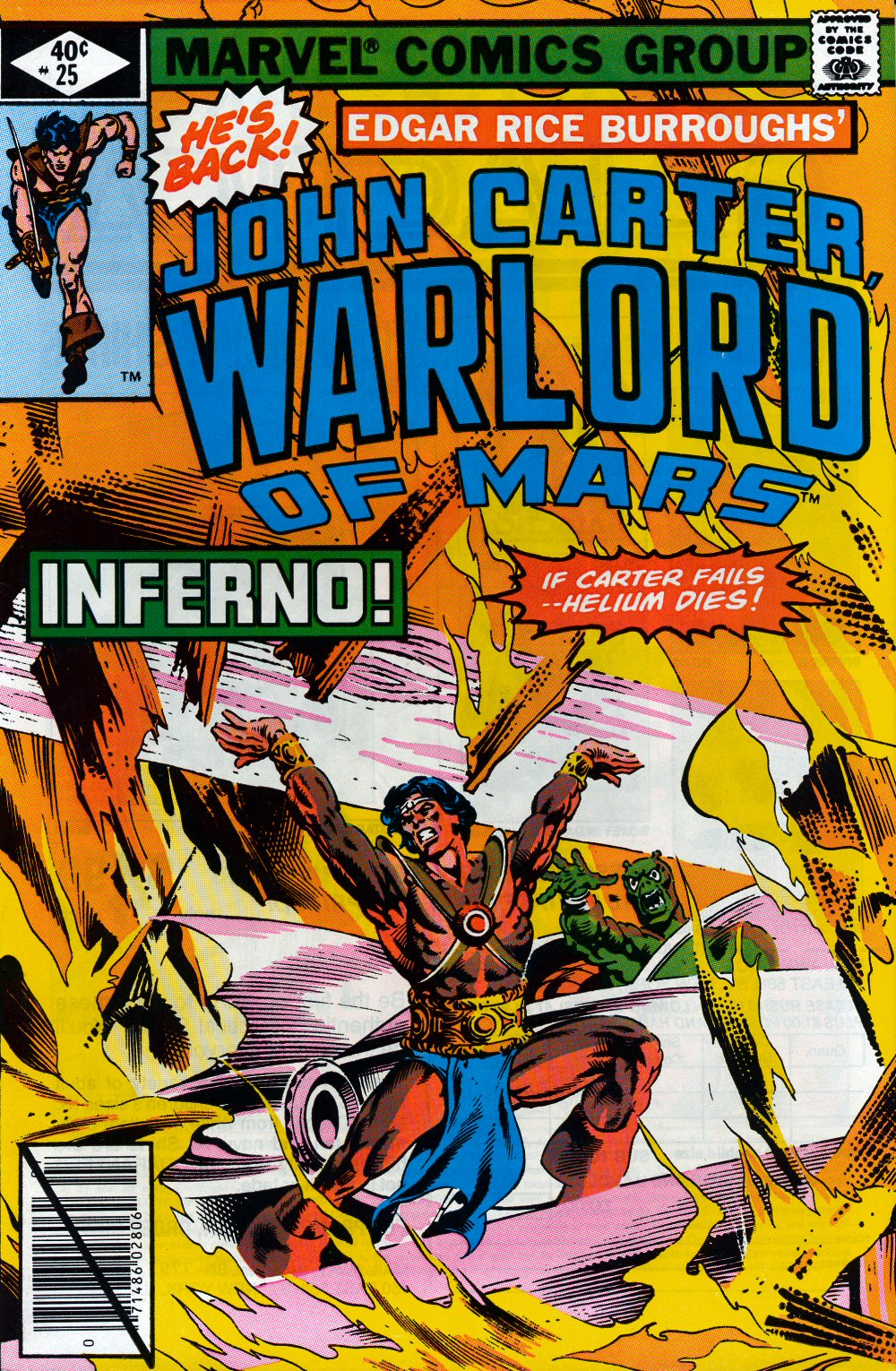 John Carter Warlord of Mars issue 25 - Page 1