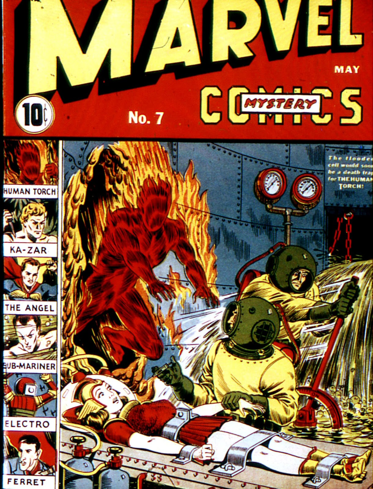 Marvel Mystery Comics (1939) issue 7 - Page 1