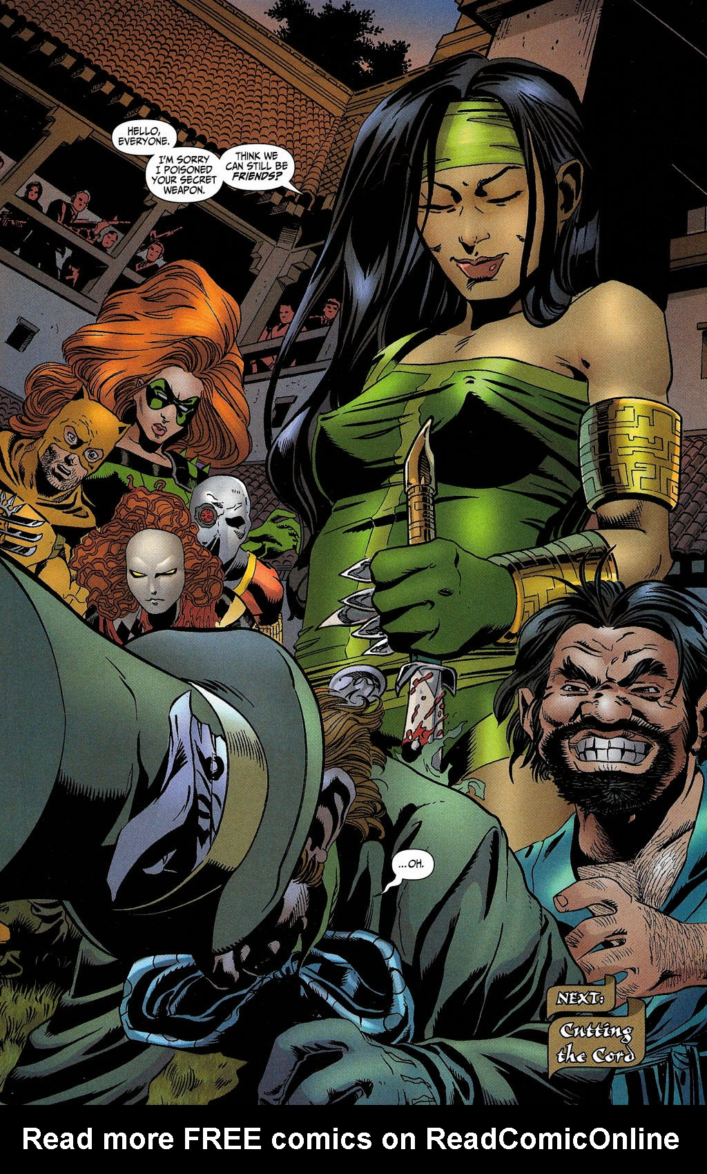 Read online Secret Six (2006) comic -  Issue #5 - 36