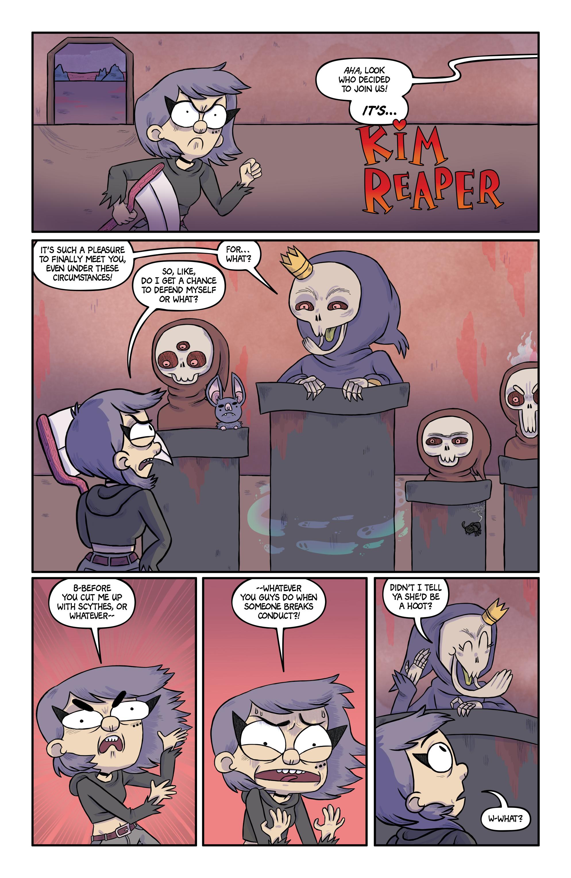 Read online Kim Reaper comic -  Issue #3 - 6