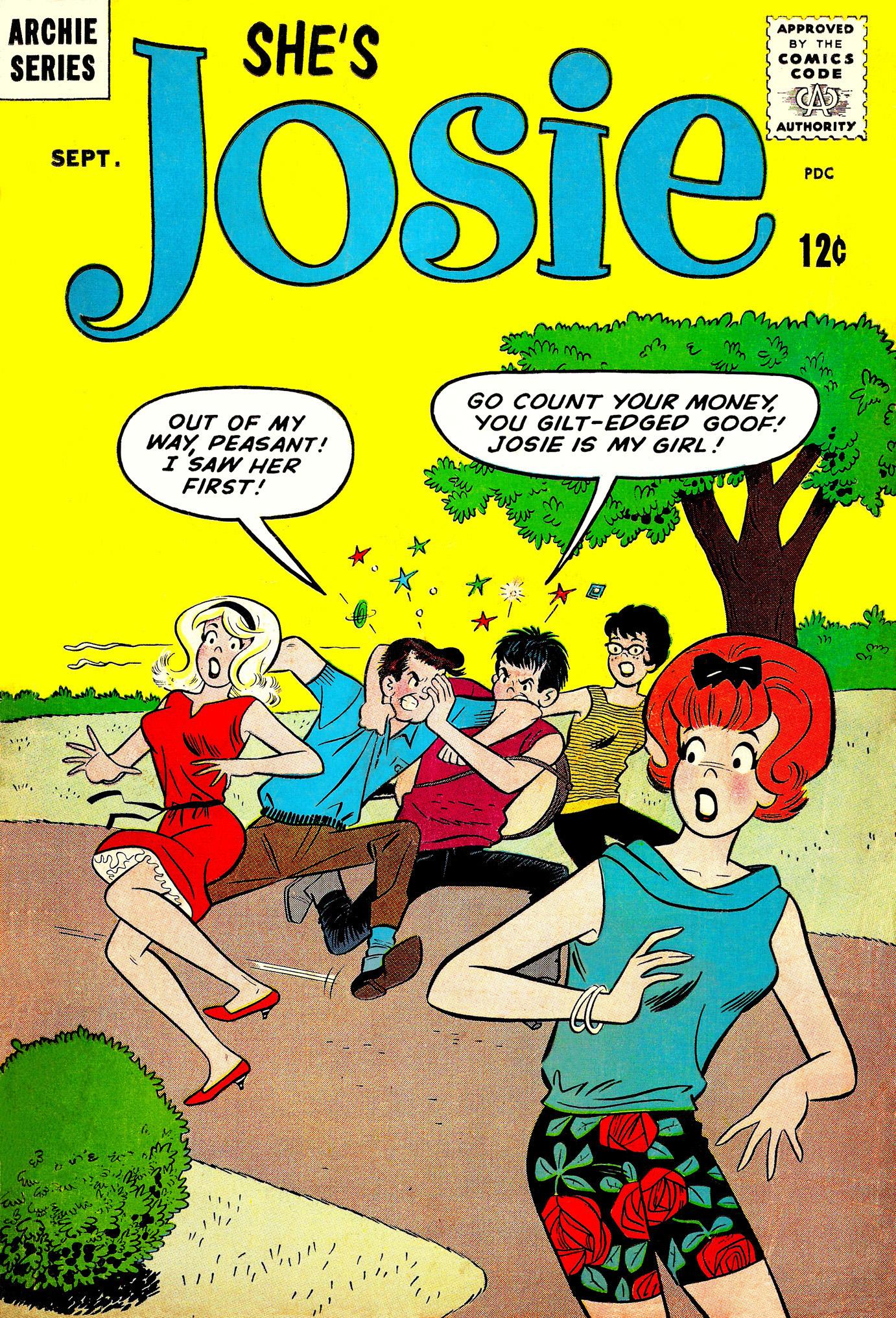 Read online She's Josie comic -  Issue #8 - 1