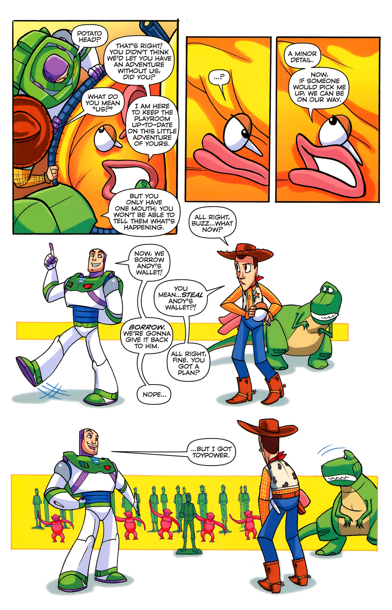 Read online Toy Story (2009) comic -  Issue #6 - 12