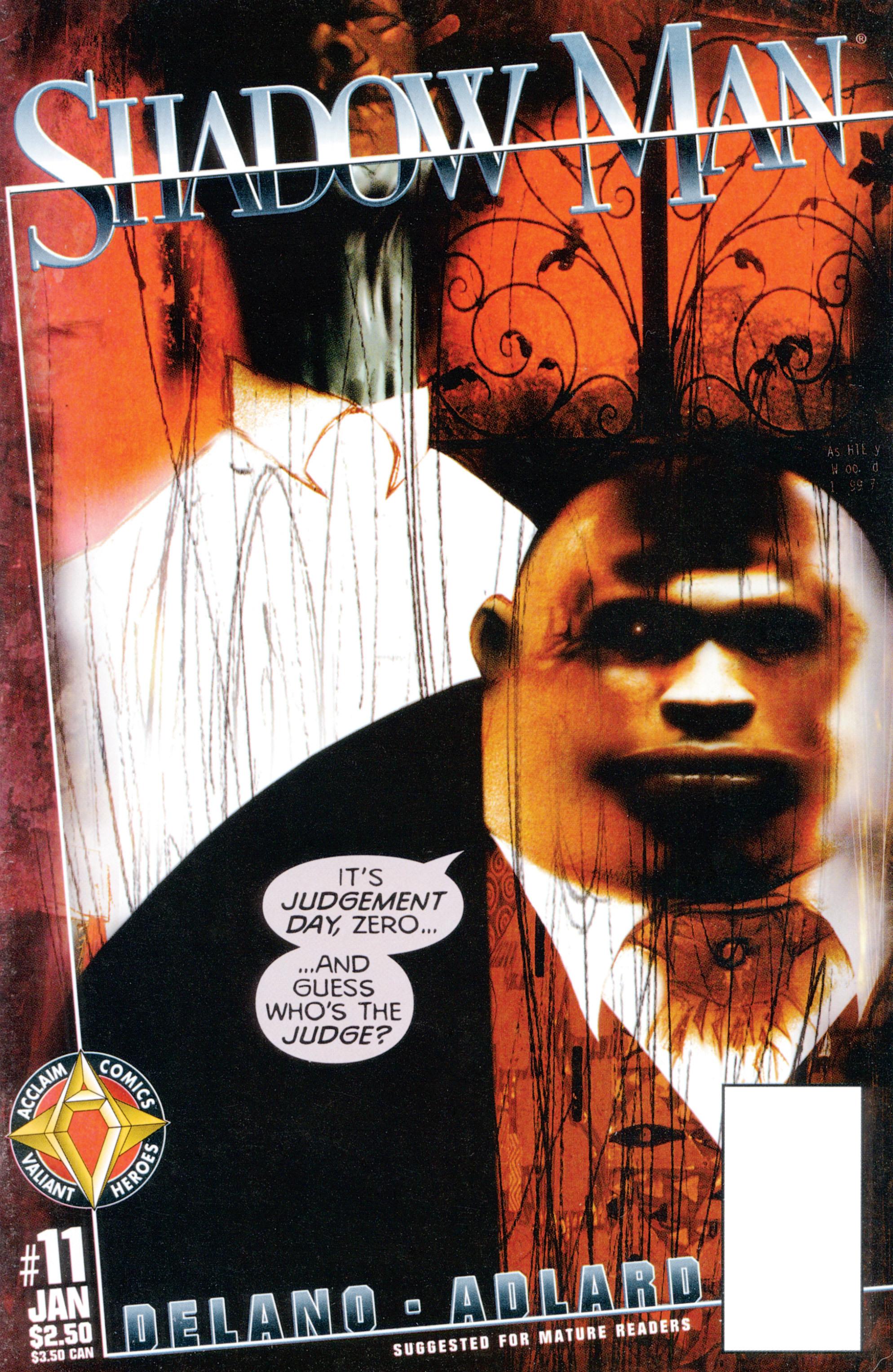 Read online Shadowman (1997) comic -  Issue #11 - 1