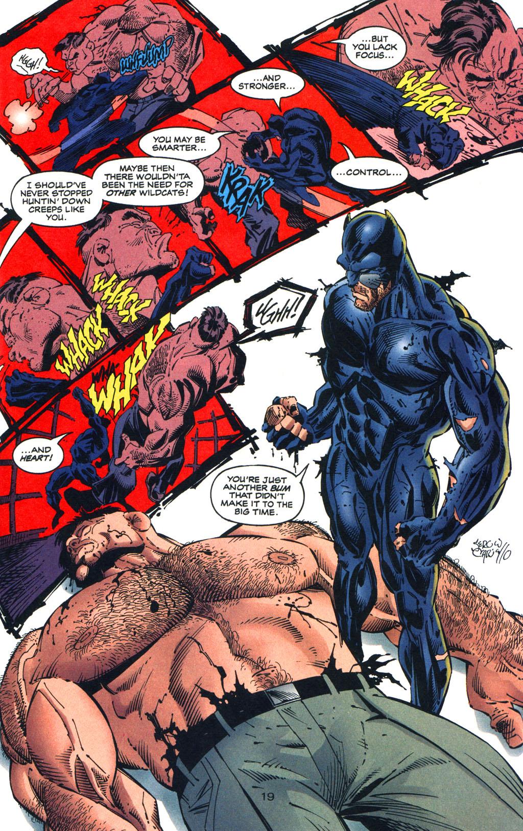 Read online Batman/Wildcat comic -  Issue #3 - 19