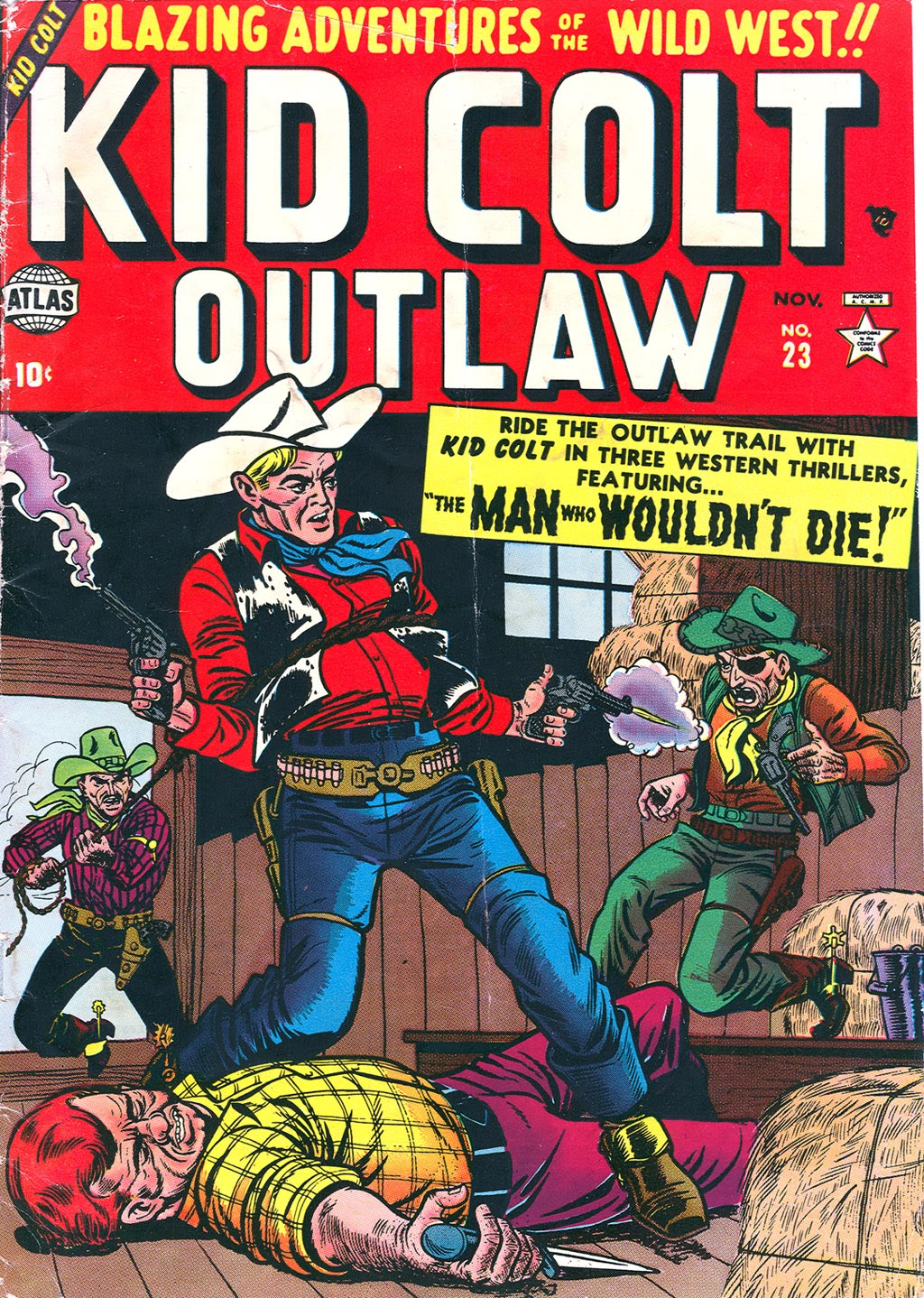 Kid Colt Outlaw issue 23 - Page 1