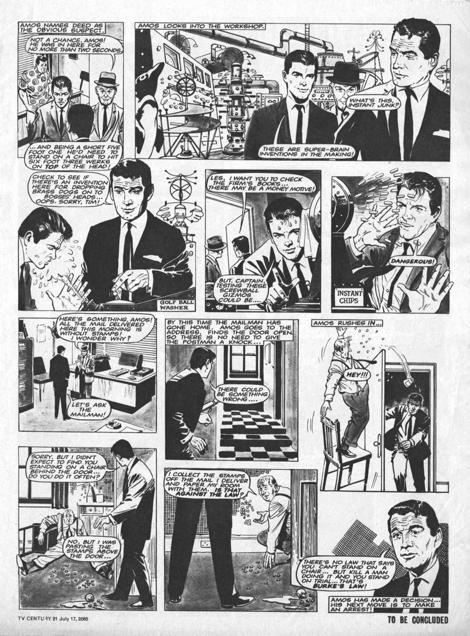 Read online TV Century 21 (TV 21) comic -  Issue #26 - 3