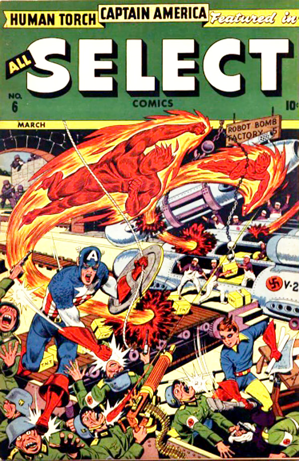 Read online All-Select Comics comic -  Issue #6 - 1