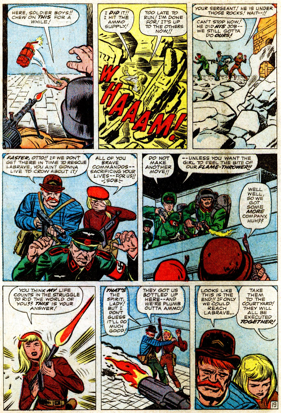 Read online Sgt. Fury comic -  Issue #1 - 29