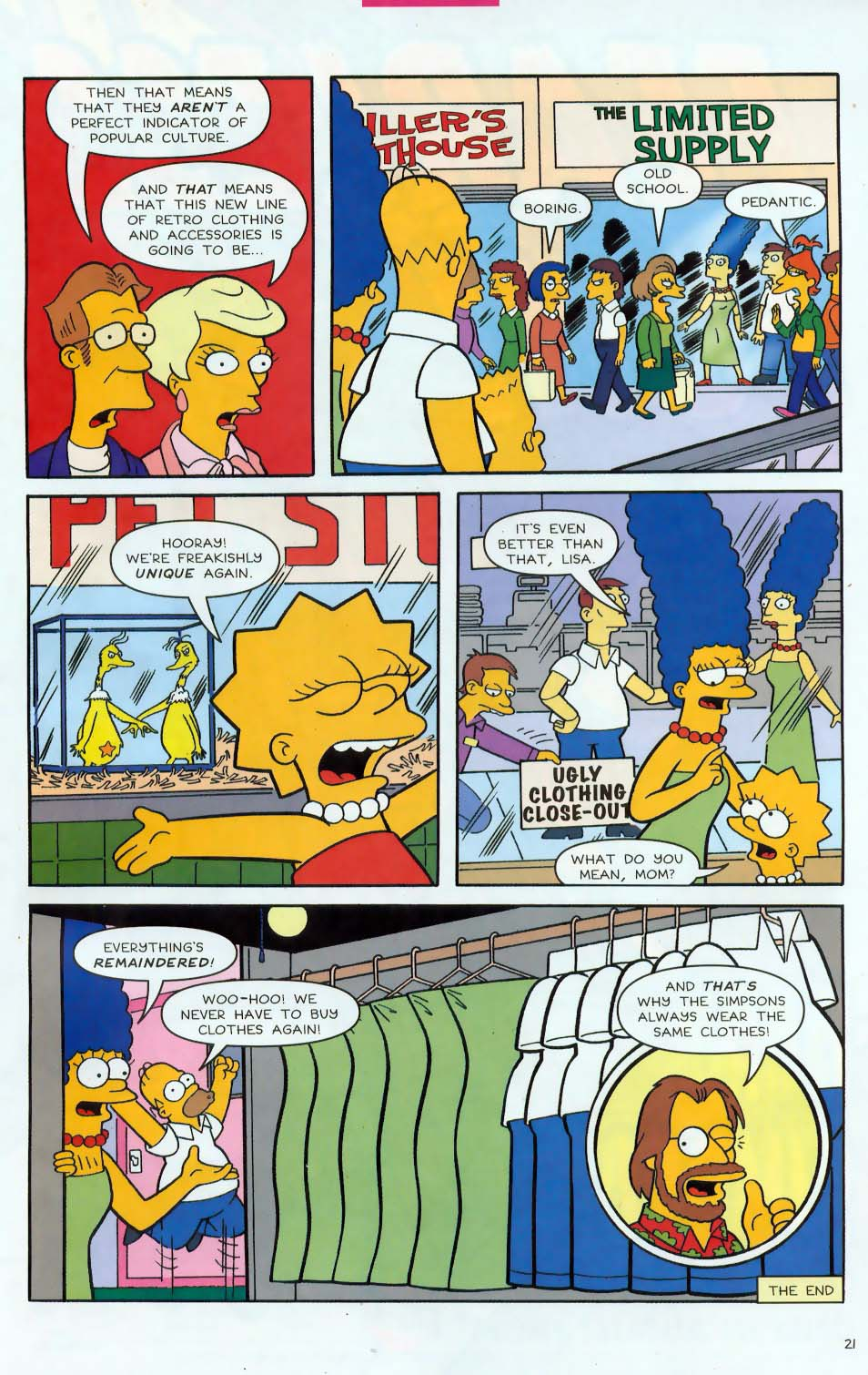 Read online Simpsons Comics comic -  Issue #85 - 22