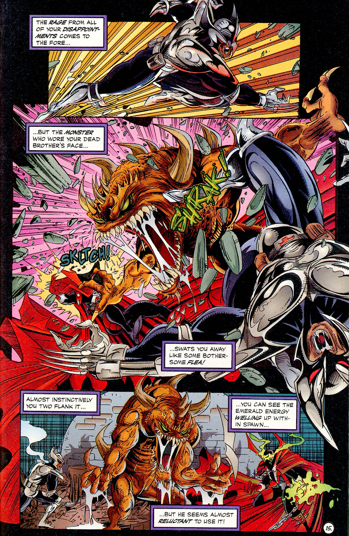 Read online ShadowHawk comic -  Issue #17 - 15