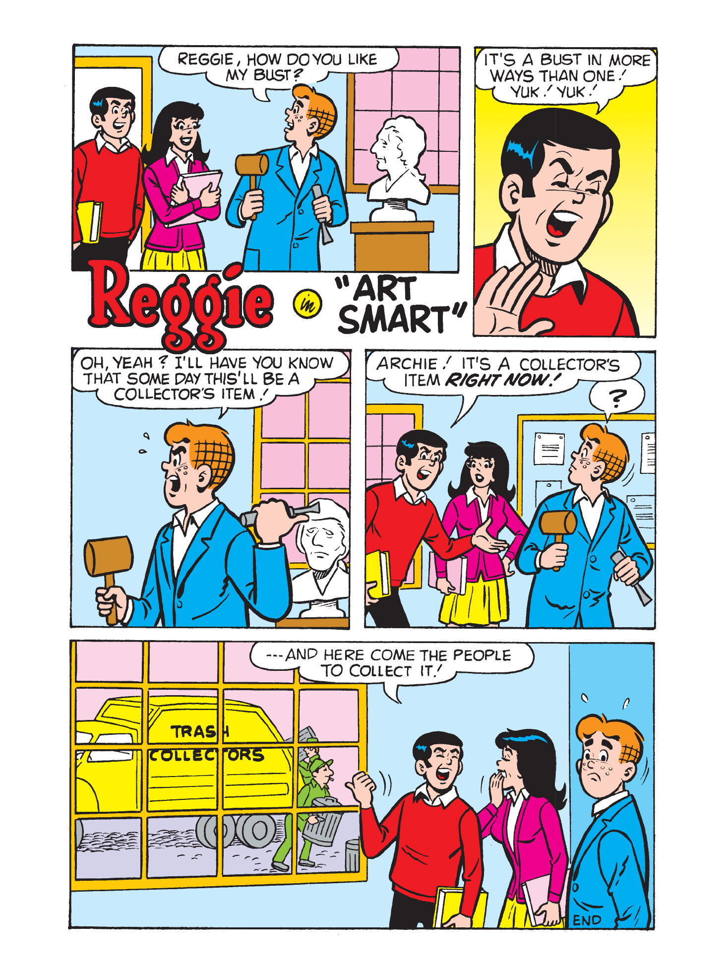 Read online Archie's Funhouse Double Digest comic -  Issue #3 - 64