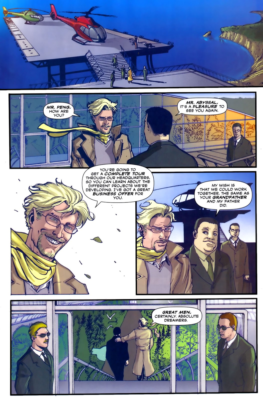 Read online Lazarus (2007) comic -  Issue #2 - 17