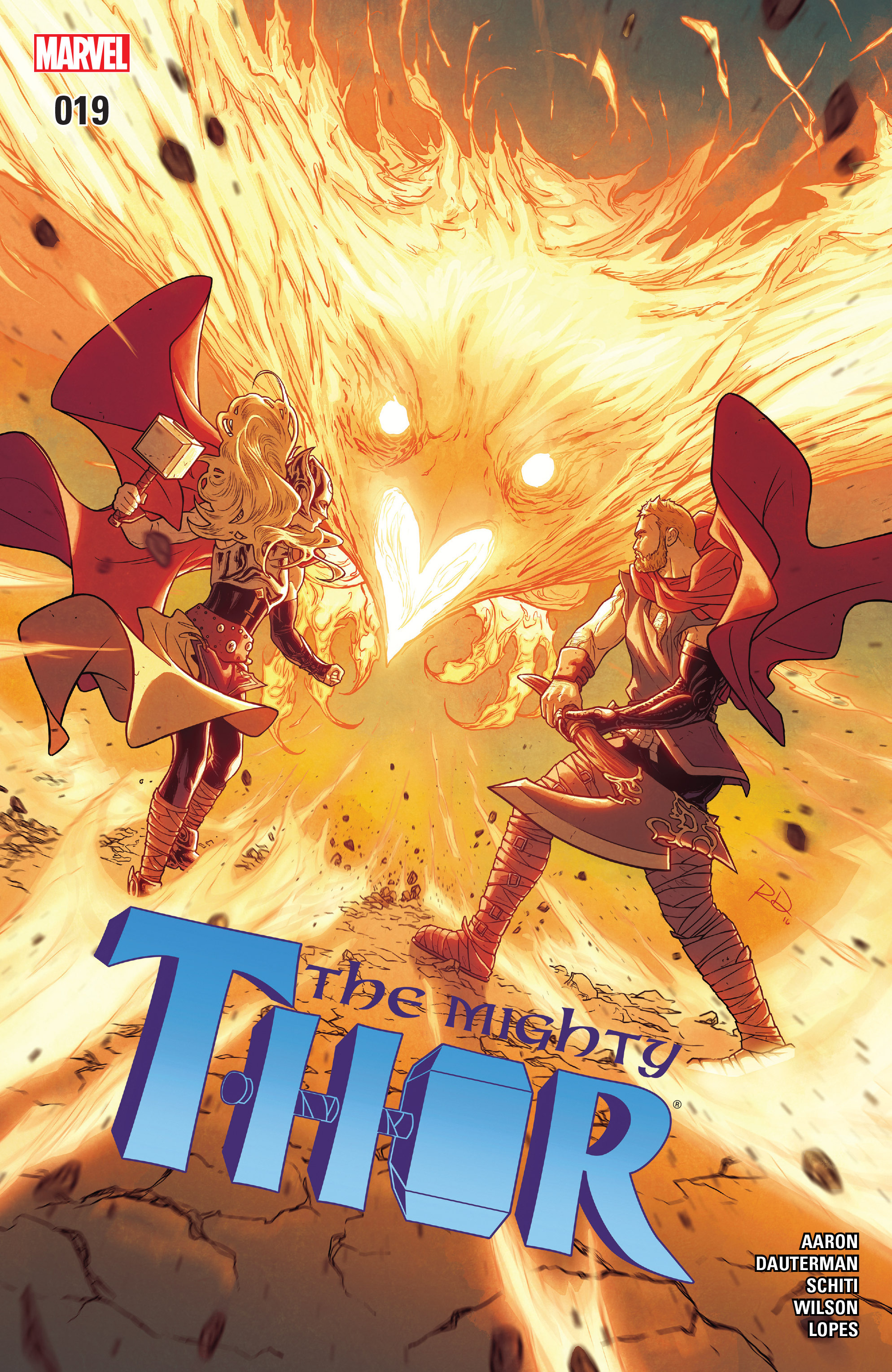 Read online Mighty Thor (2016) comic -  Issue #19 - 1