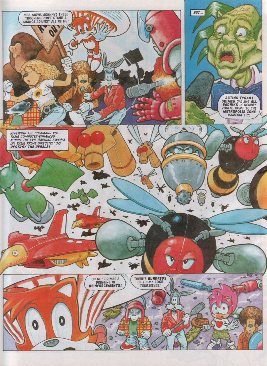 Read online Sonic the Comic comic -  Issue #99 - 24