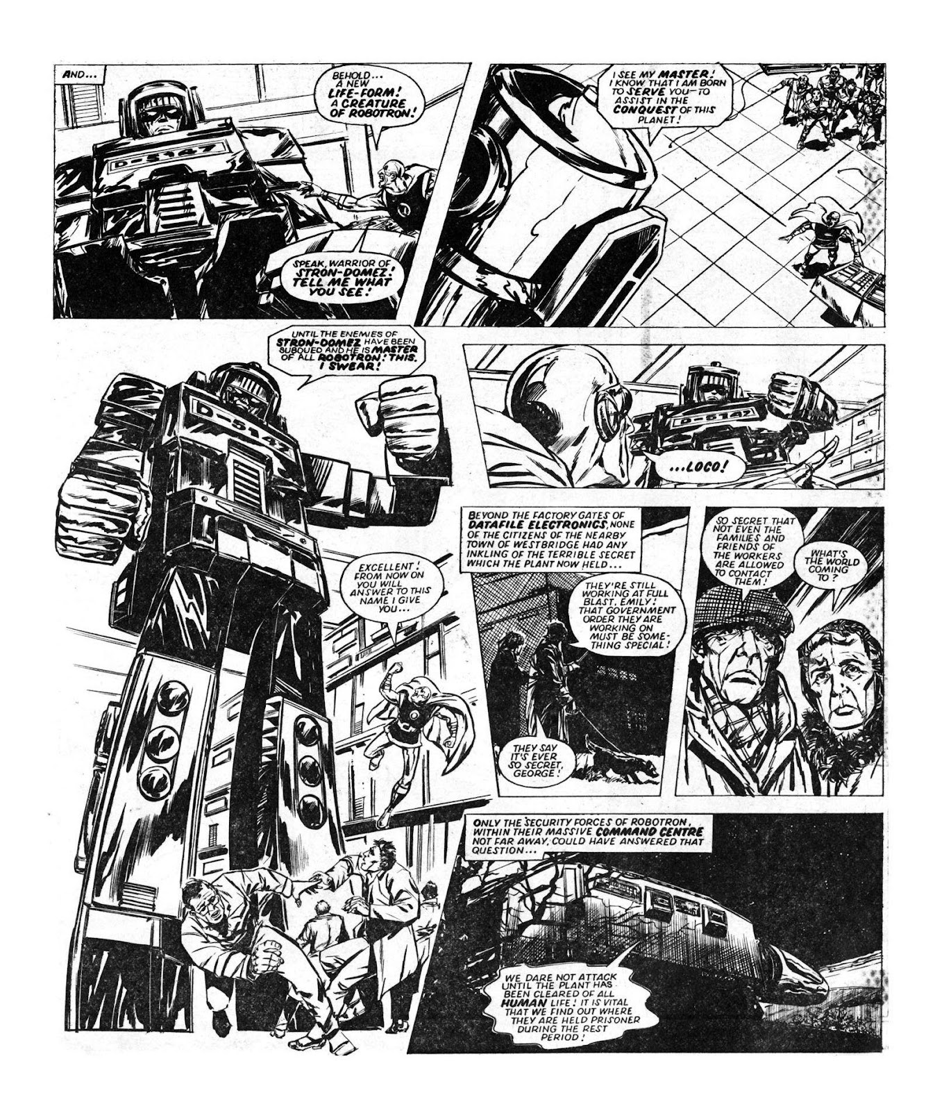 Read online Robo Machines comic -  Issue # TPB - 52