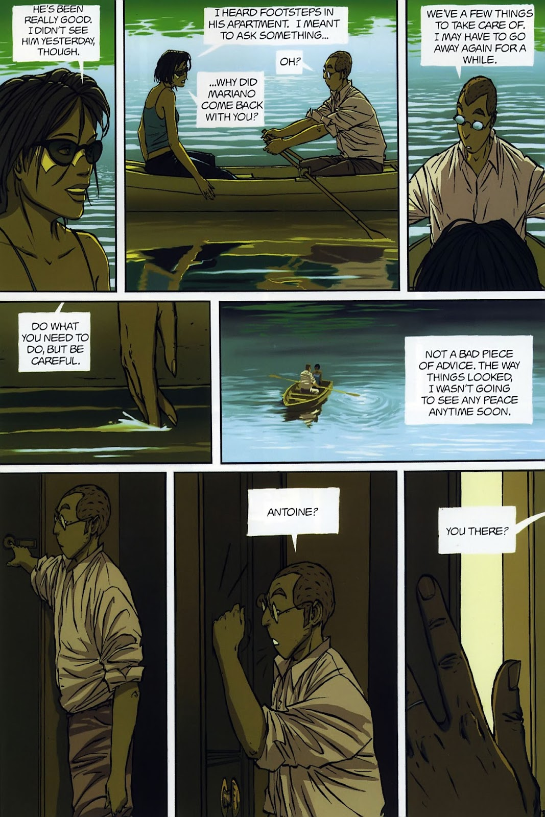 Read online The Killer comic -  Issue #8 - 10