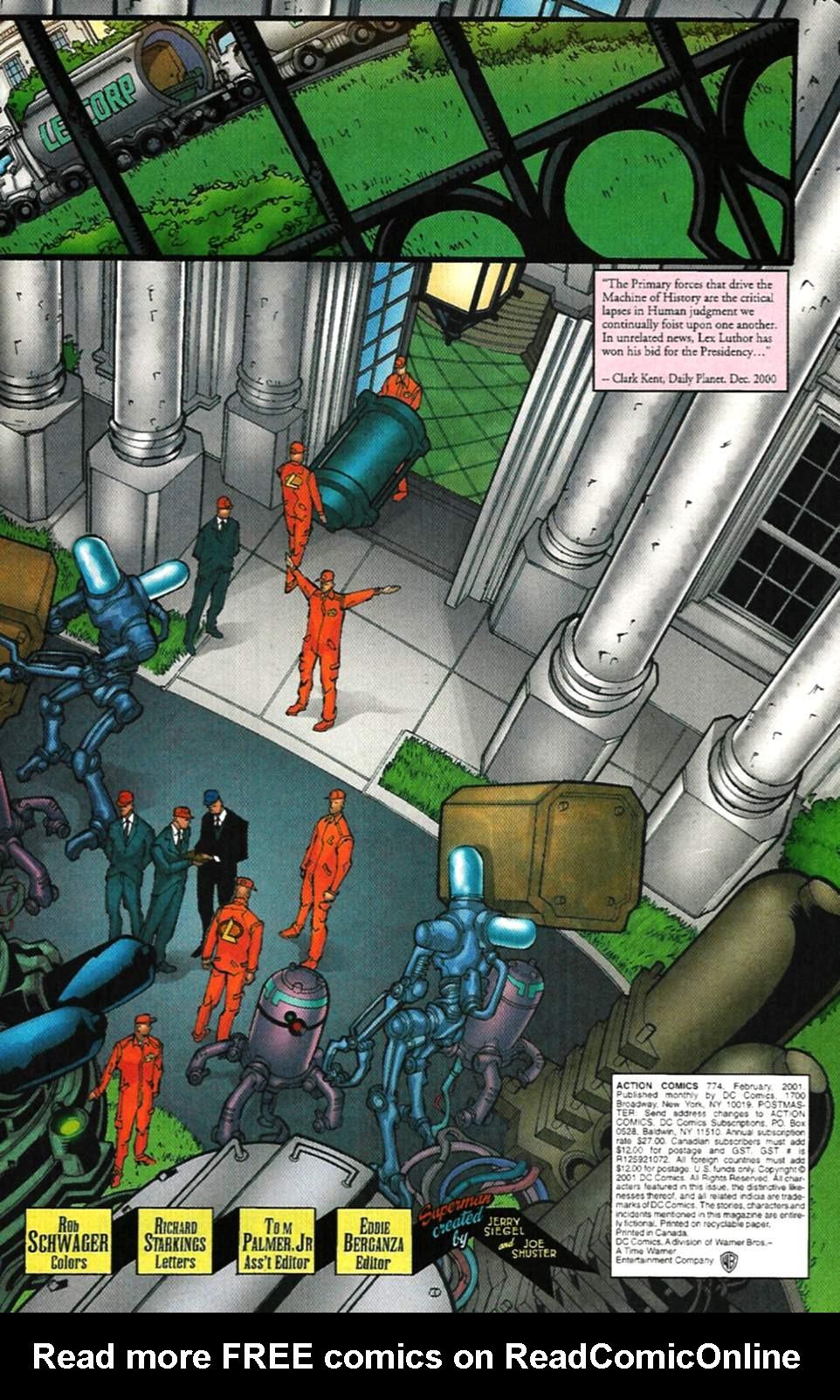Action Comics (1938) 774 Page 3