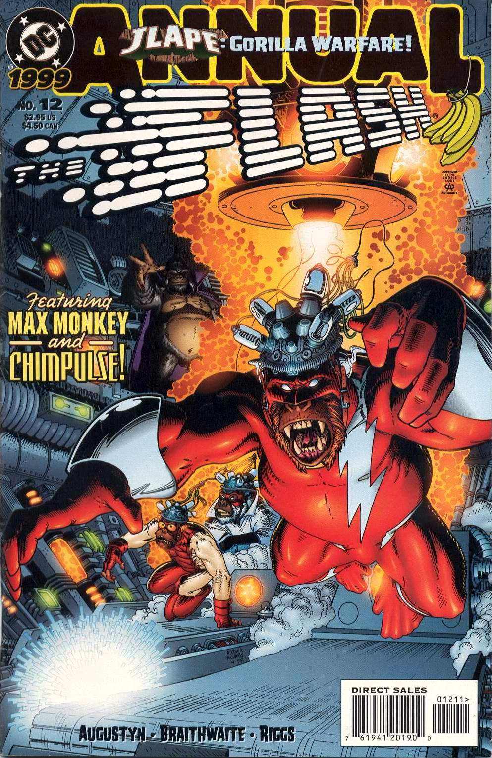 Read online The Flash (1987) comic -  Issue # _Annual 12 - 1