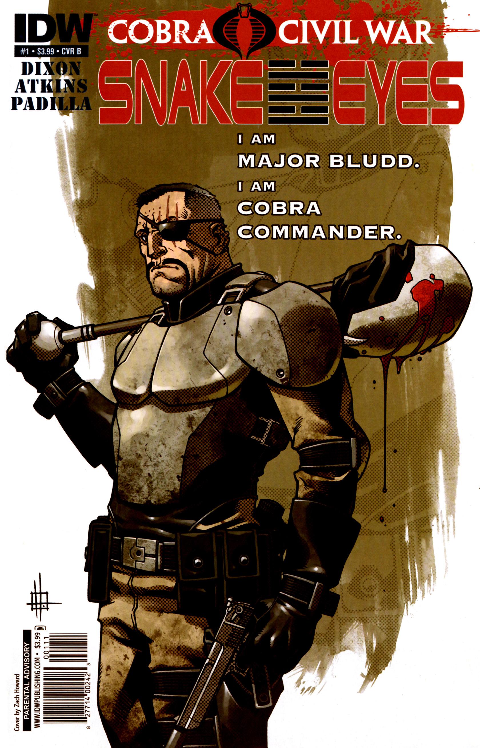 Read online G.I. Joe: Snake Eyes comic -  Issue #1 - 2