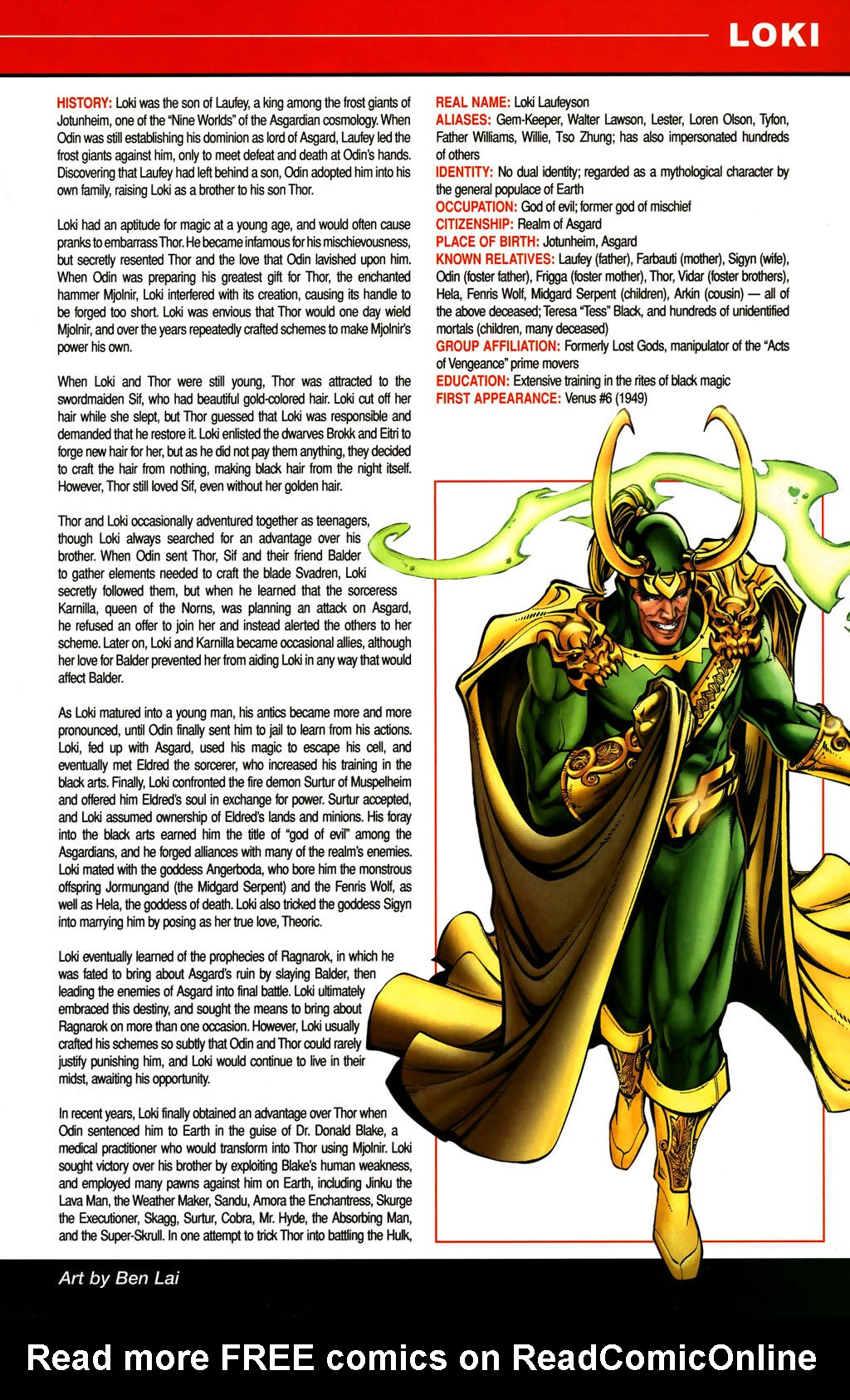 Read online All-New Official Handbook of the Marvel Universe A to Z comic -  Issue #6 - 33