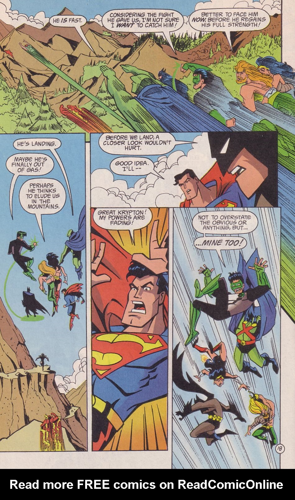 Read online Adventures in the DC Universe comic -  Issue #18 - 19