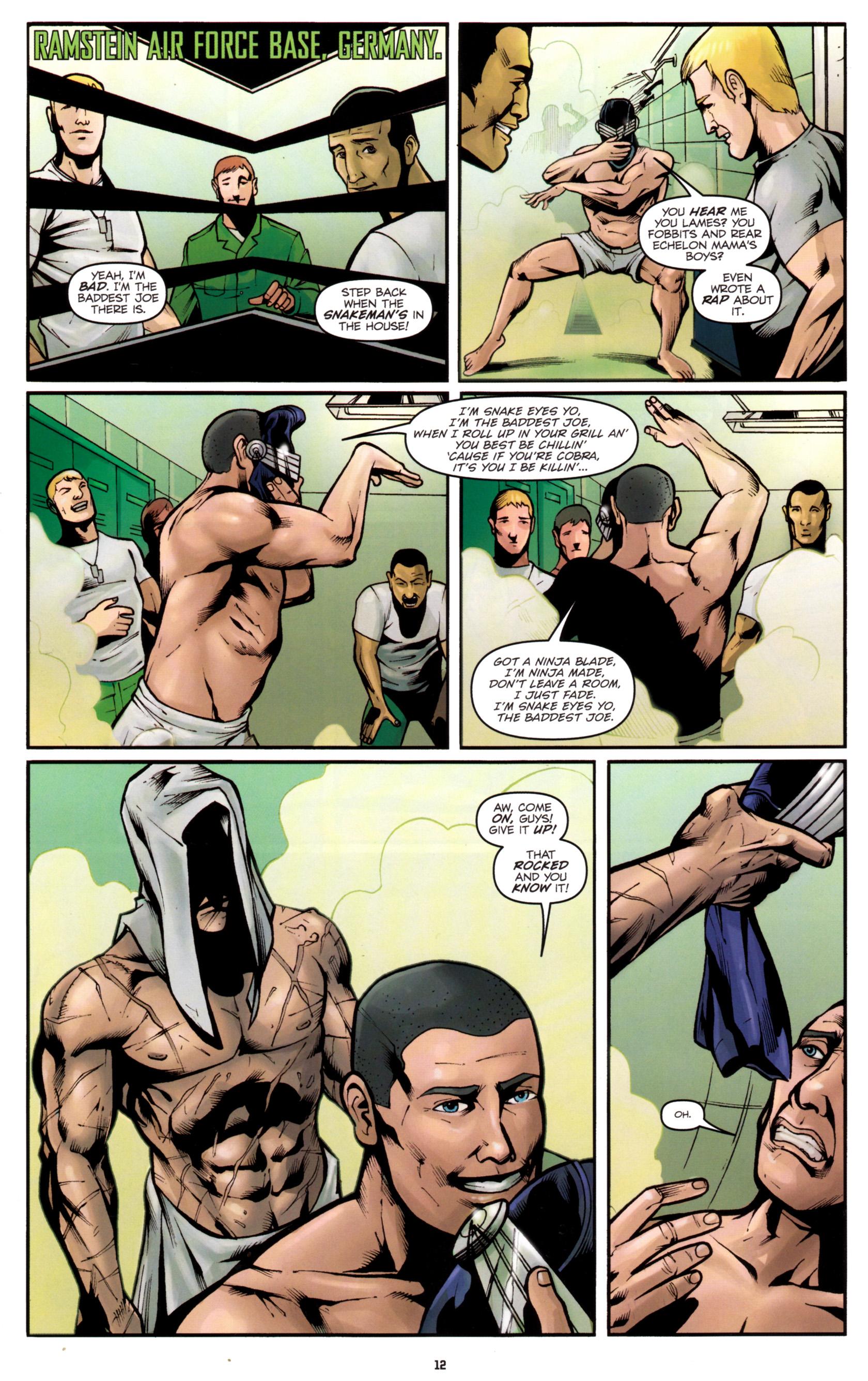 Read online G.I. Joe: Snake Eyes comic -  Issue #5 - 15
