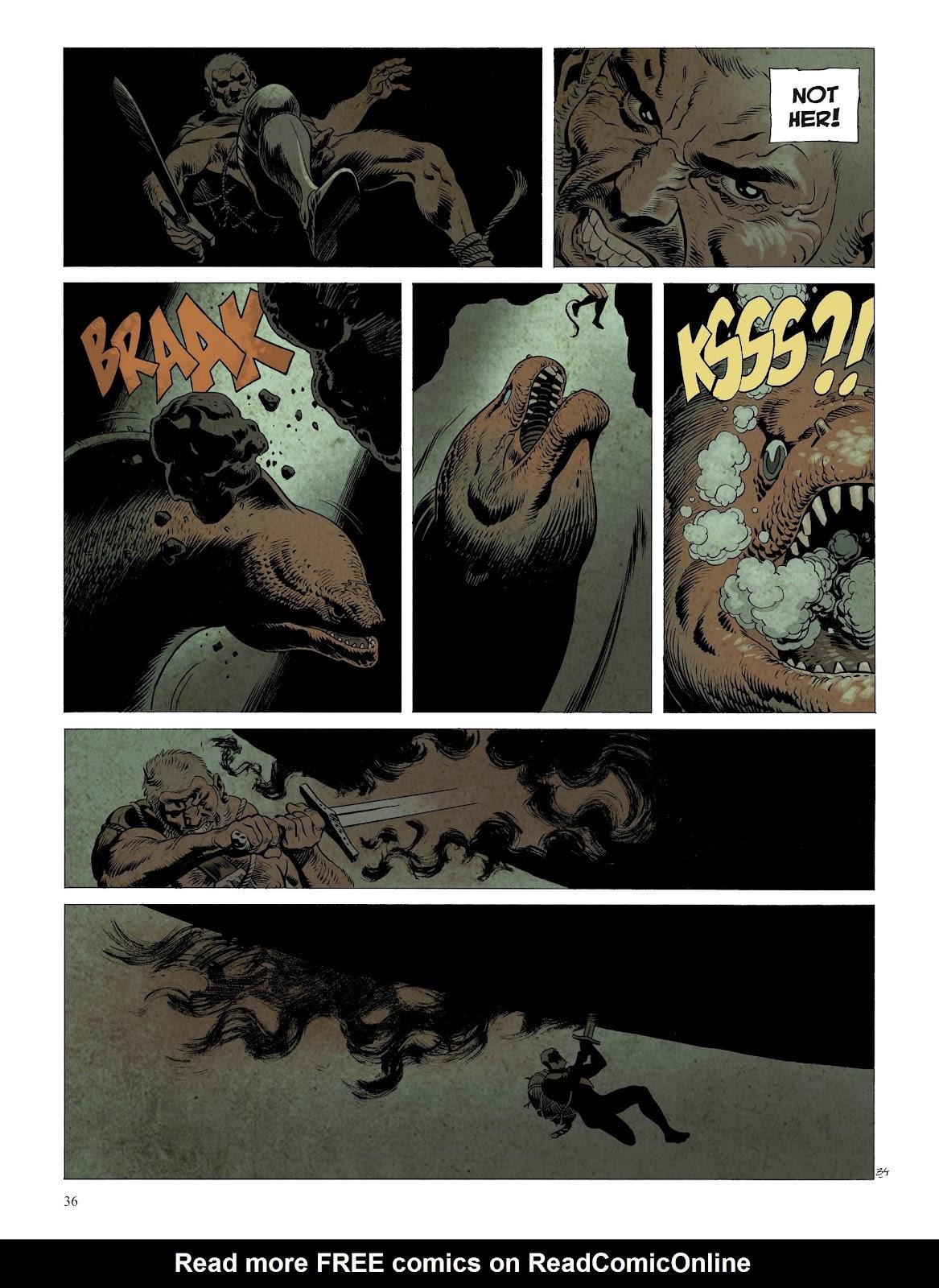 Read online Asgard comic -  Issue #2 - 38