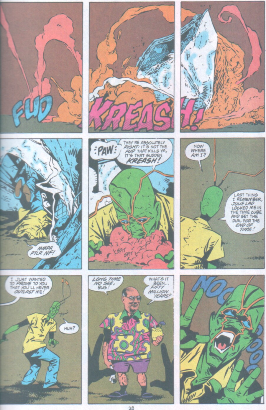 Read online Ambush Bug Nothing Special comic -  Issue # Full - 21
