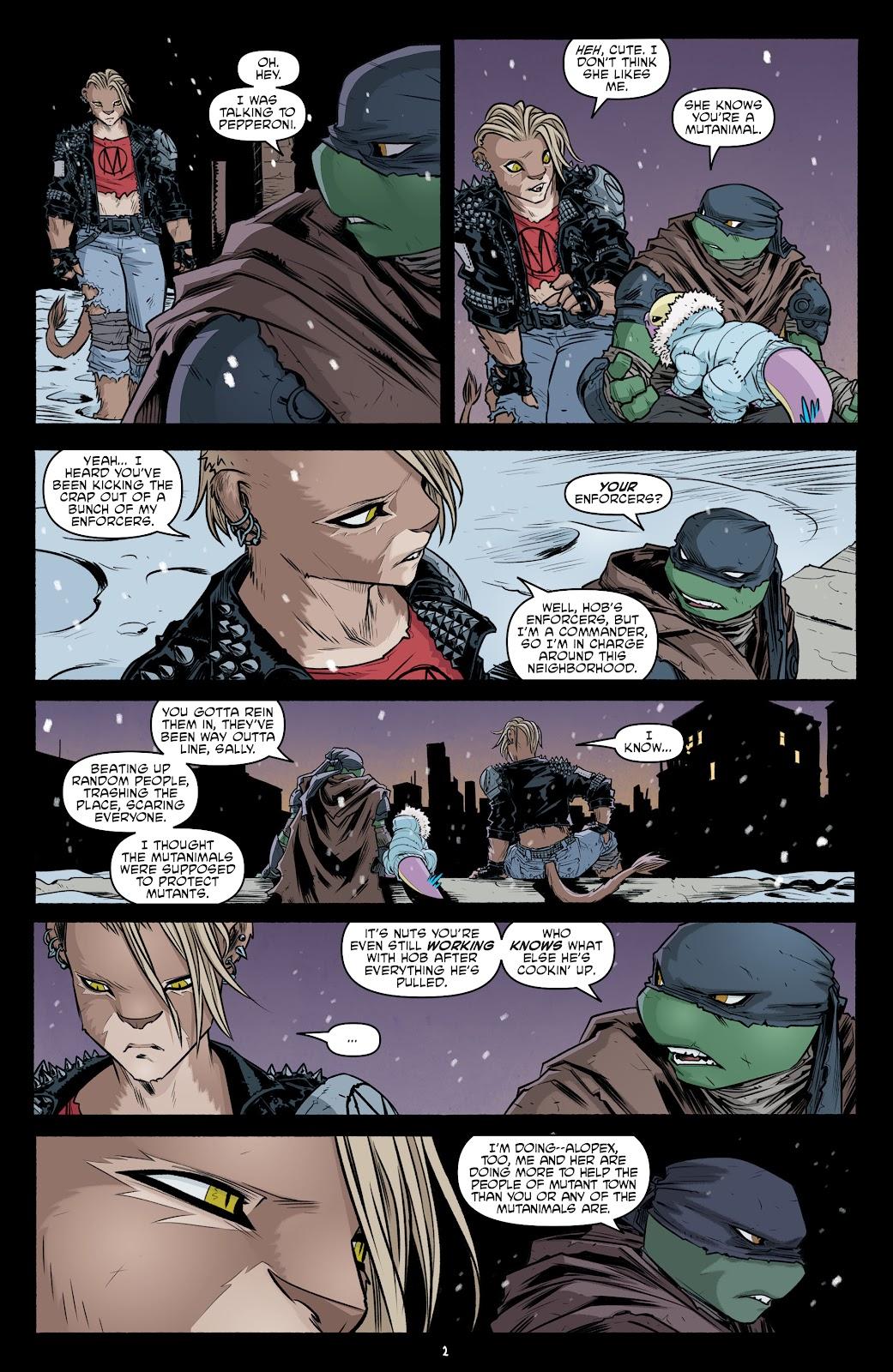 Read online Teenage Mutant Ninja Turtles (2011) comic -  Issue #102 - 4