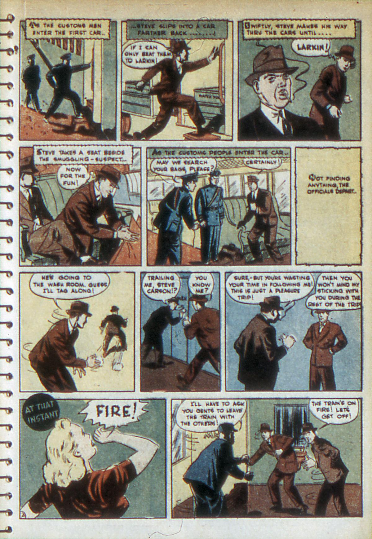 Read online Adventure Comics (1938) comic -  Issue #52 - 37