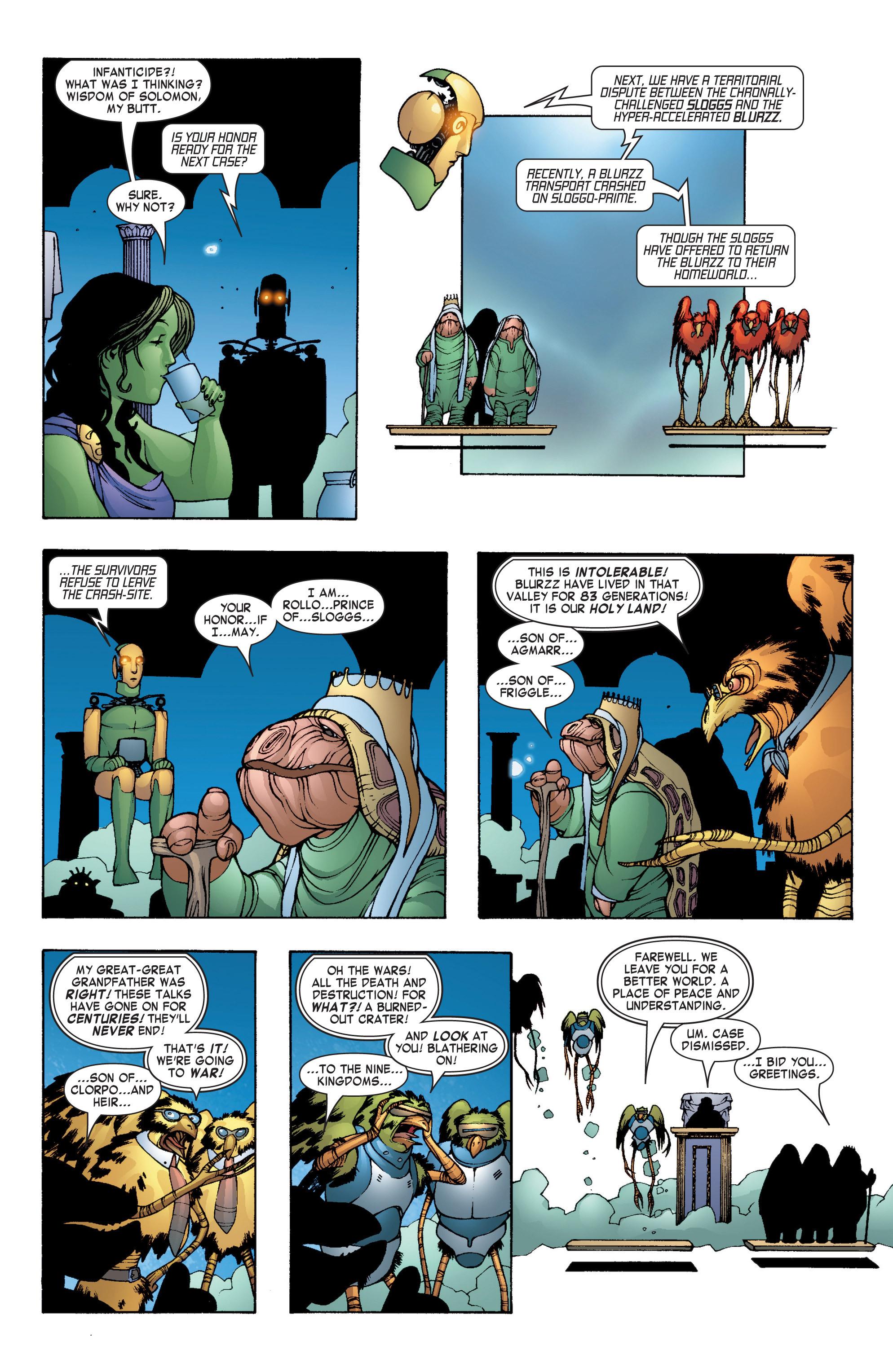 Read online She-Hulk (2004) comic -  Issue #7 - 18
