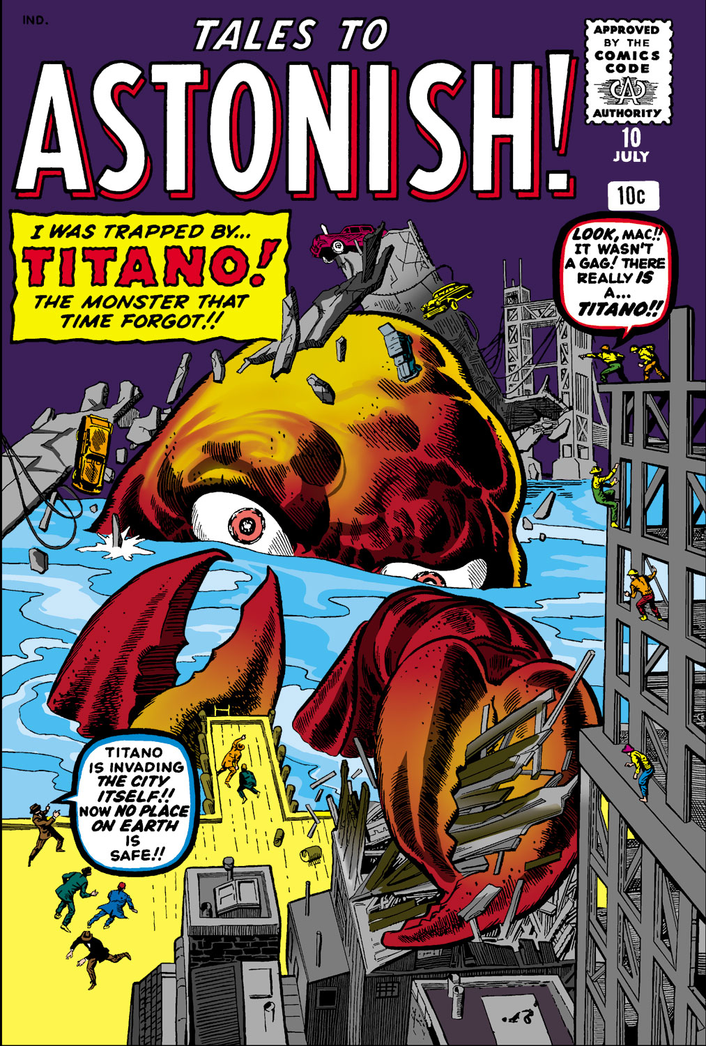 Tales to Astonish (1959) issue 10 - Page 1