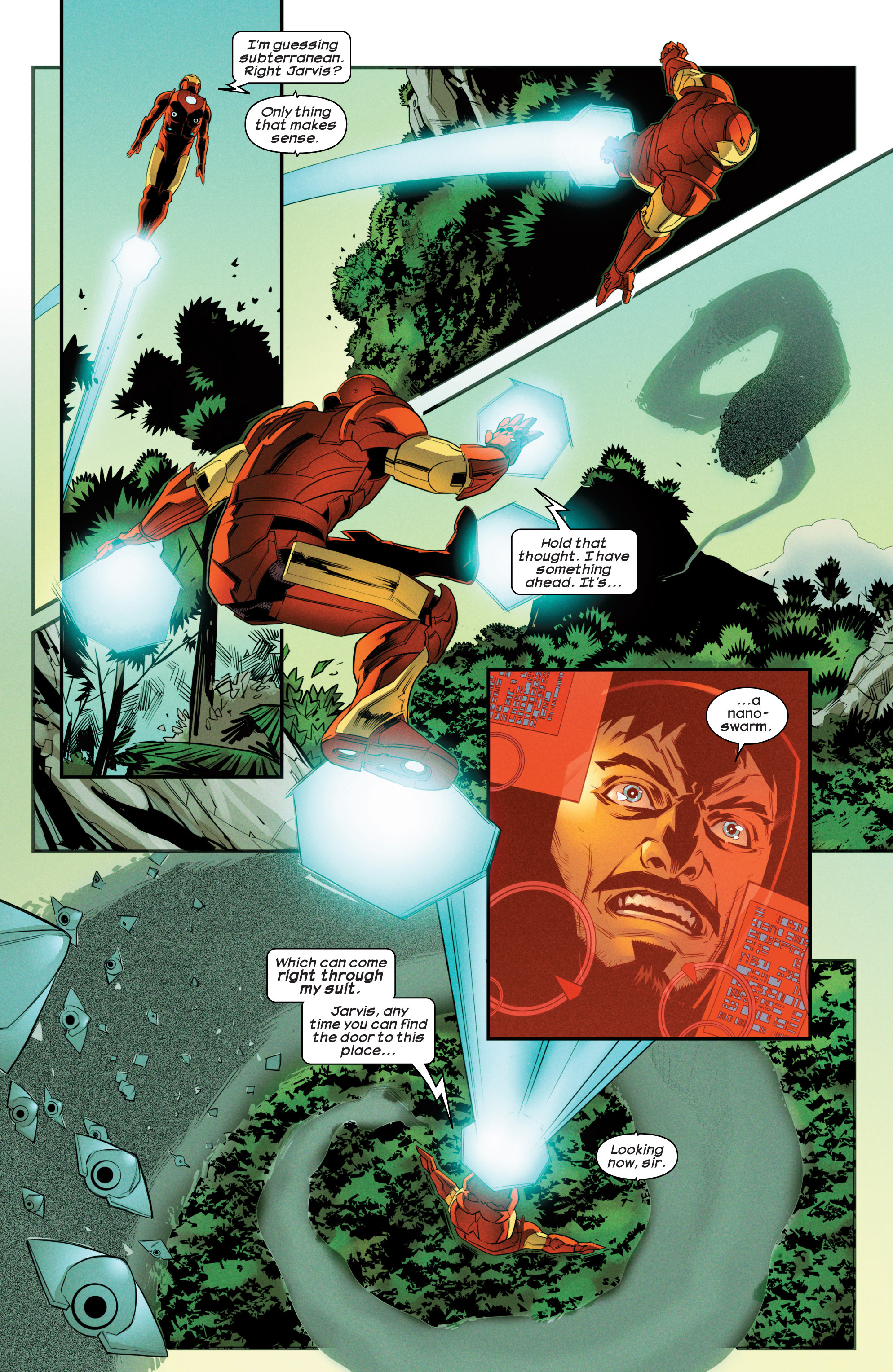 Read online Ultimate Comics Iron Man comic -  Issue #3 - 18