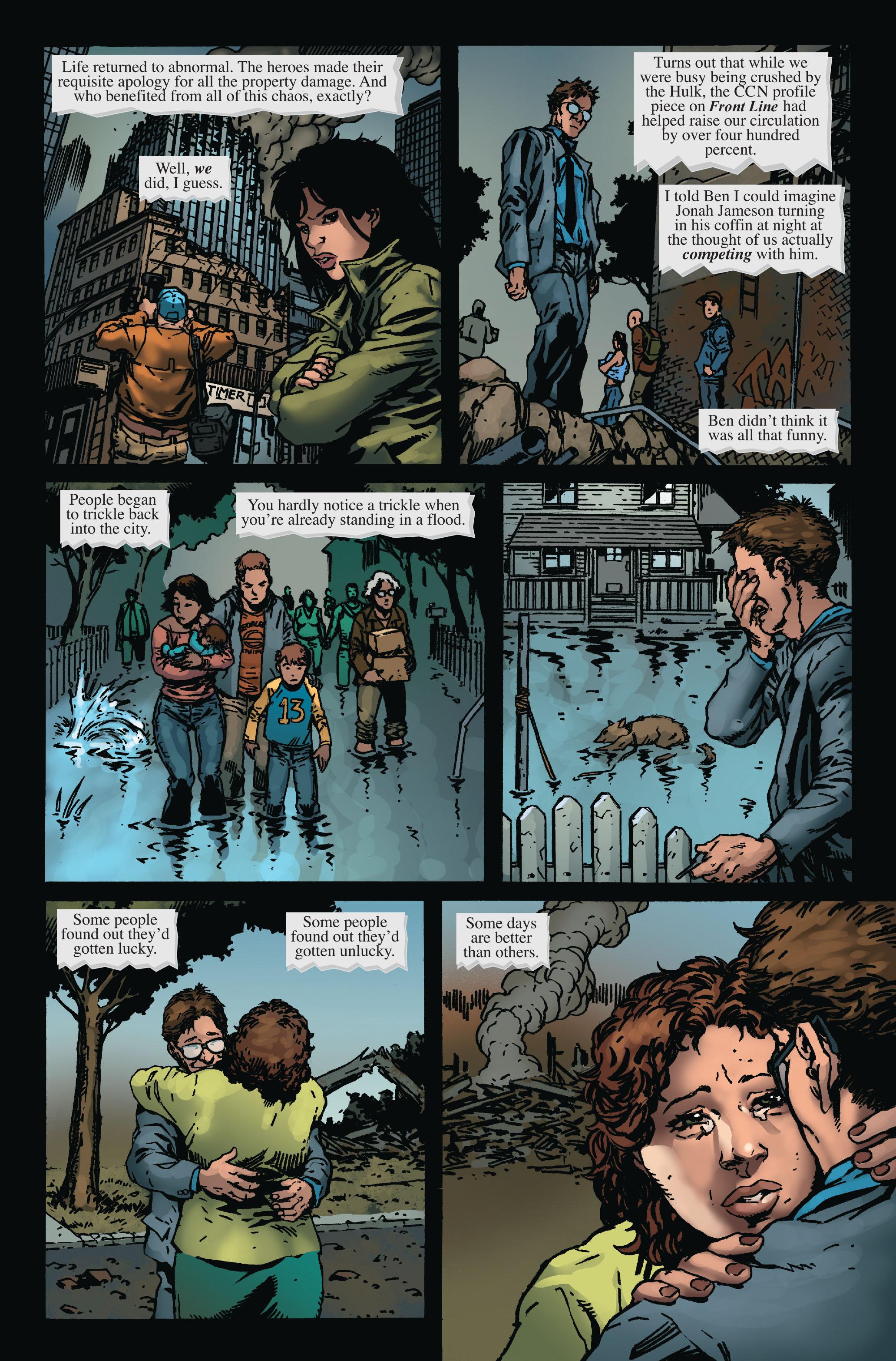 Read online World War Hulk: Front Line comic -  Issue #6 - 12