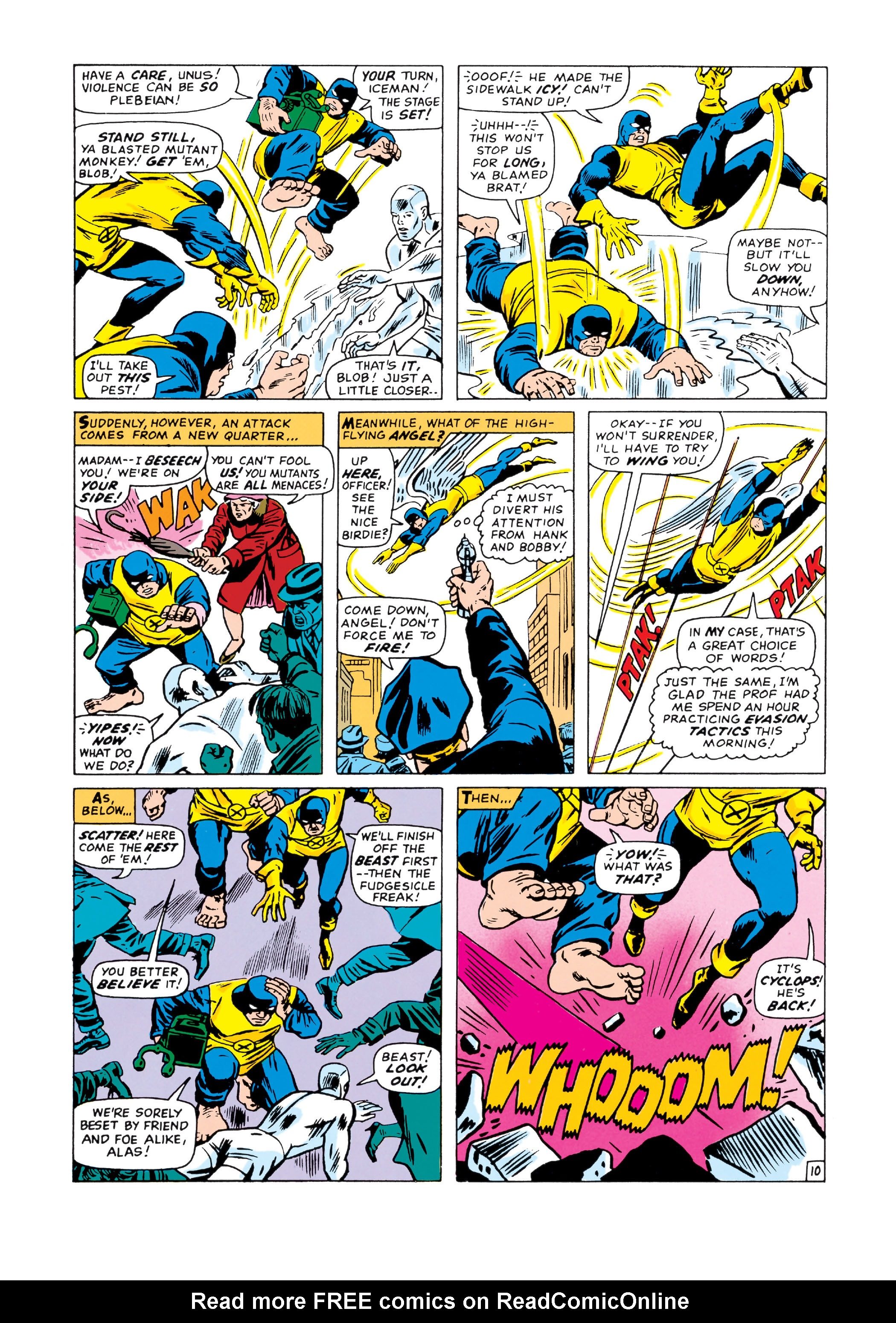 Read online Uncanny X-Men (1963) comic -  Issue #20 - 11