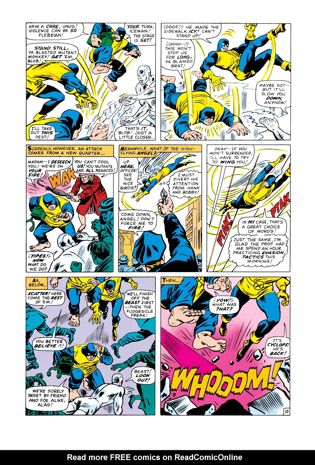Uncanny X-Men (1963) issue 20 - Page 11
