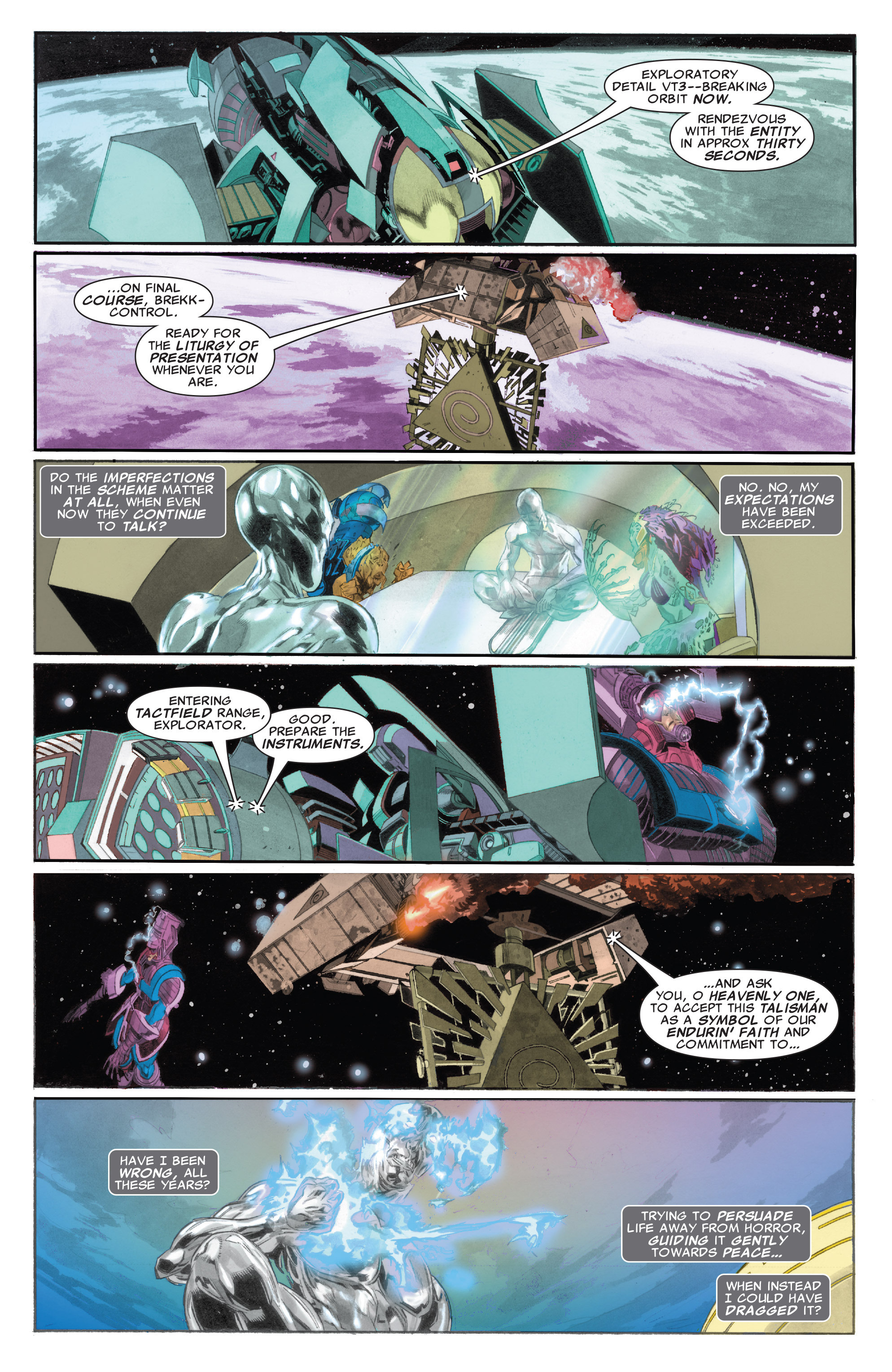 Read online Silver Surfer: In Thy Name comic -  Issue #4 - 10