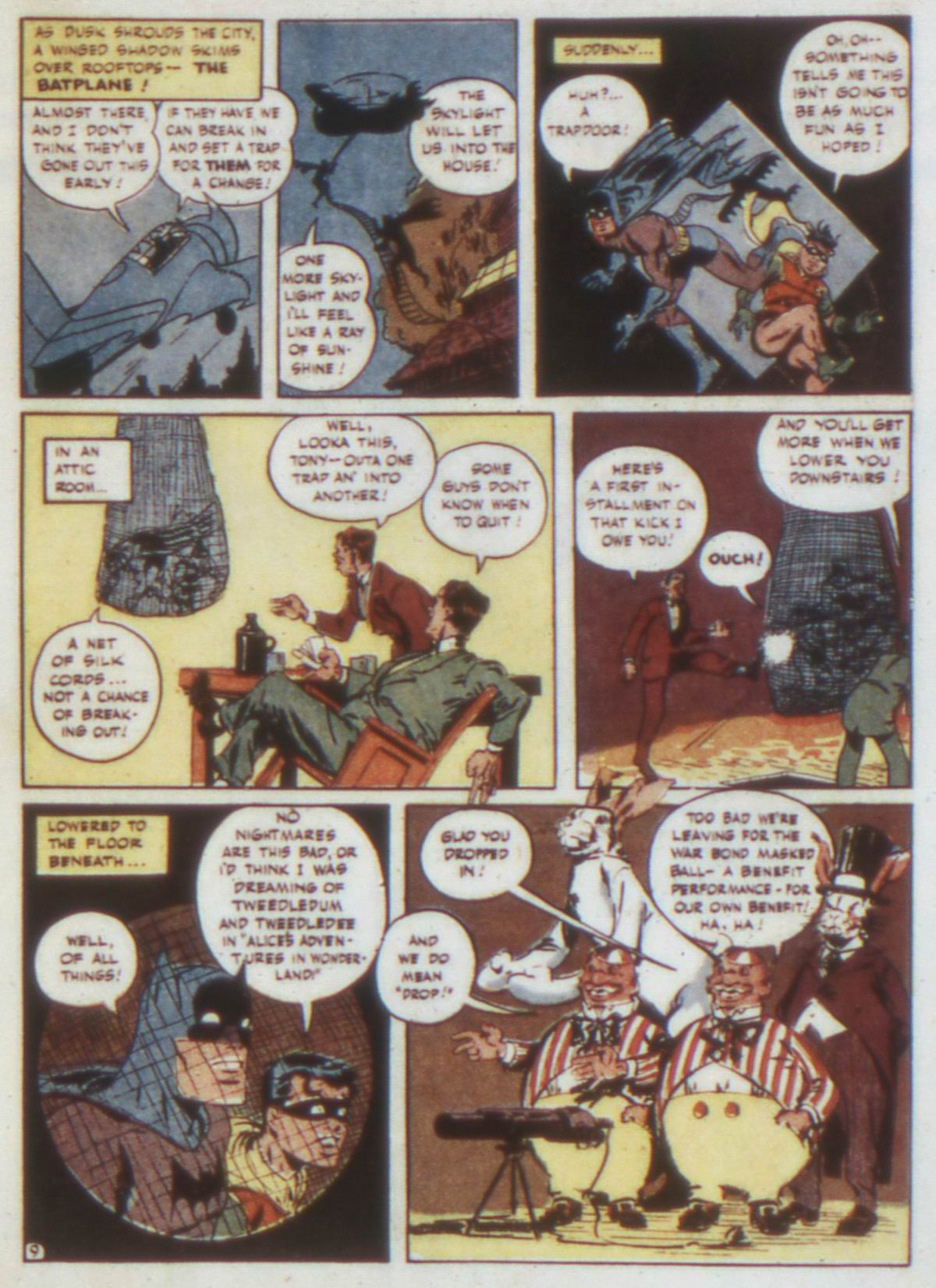 Read online Detective Comics (1937) comic -  Issue #74 - 11
