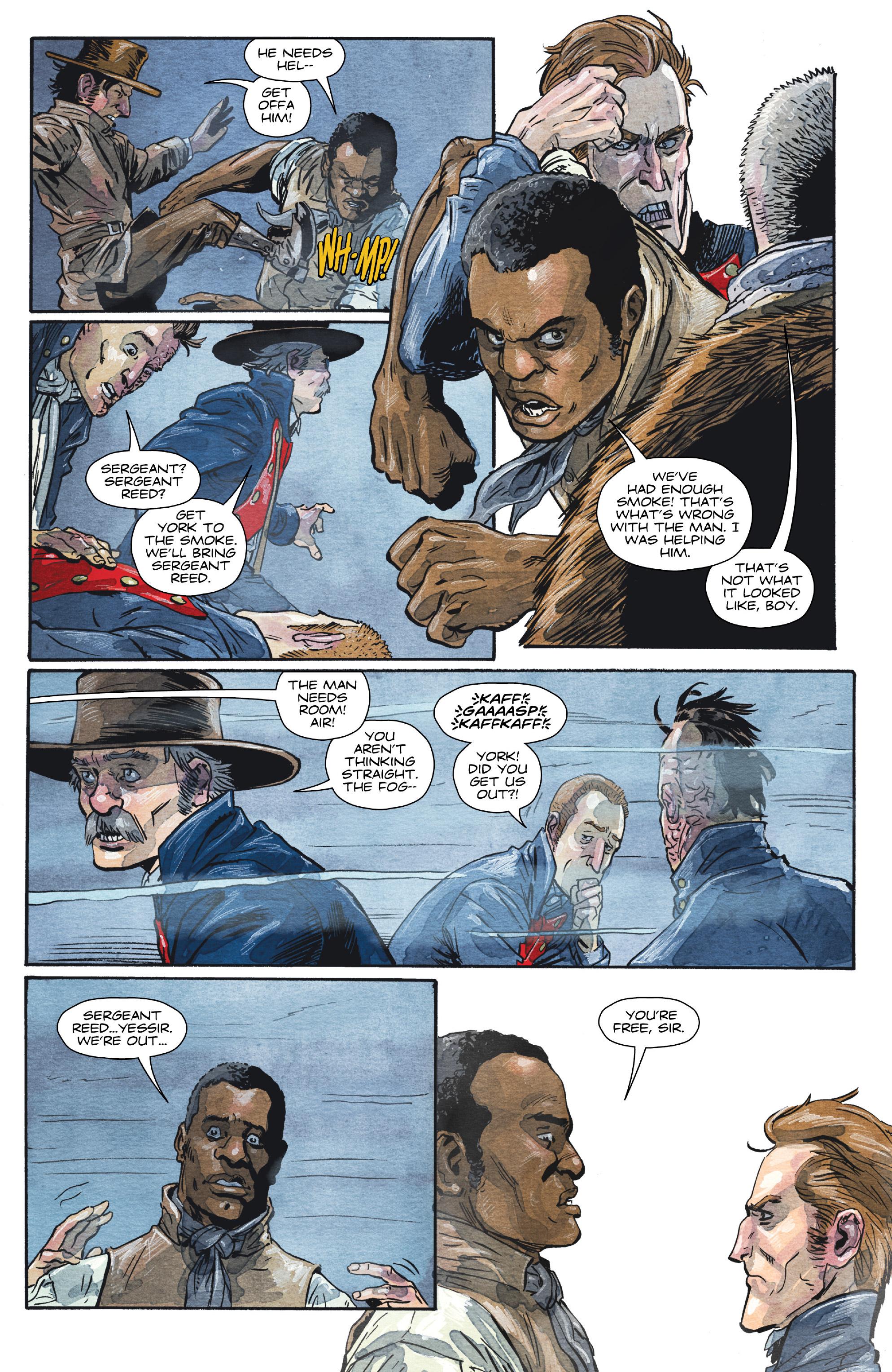 Read online Manifest Destiny comic -  Issue #29 - 15