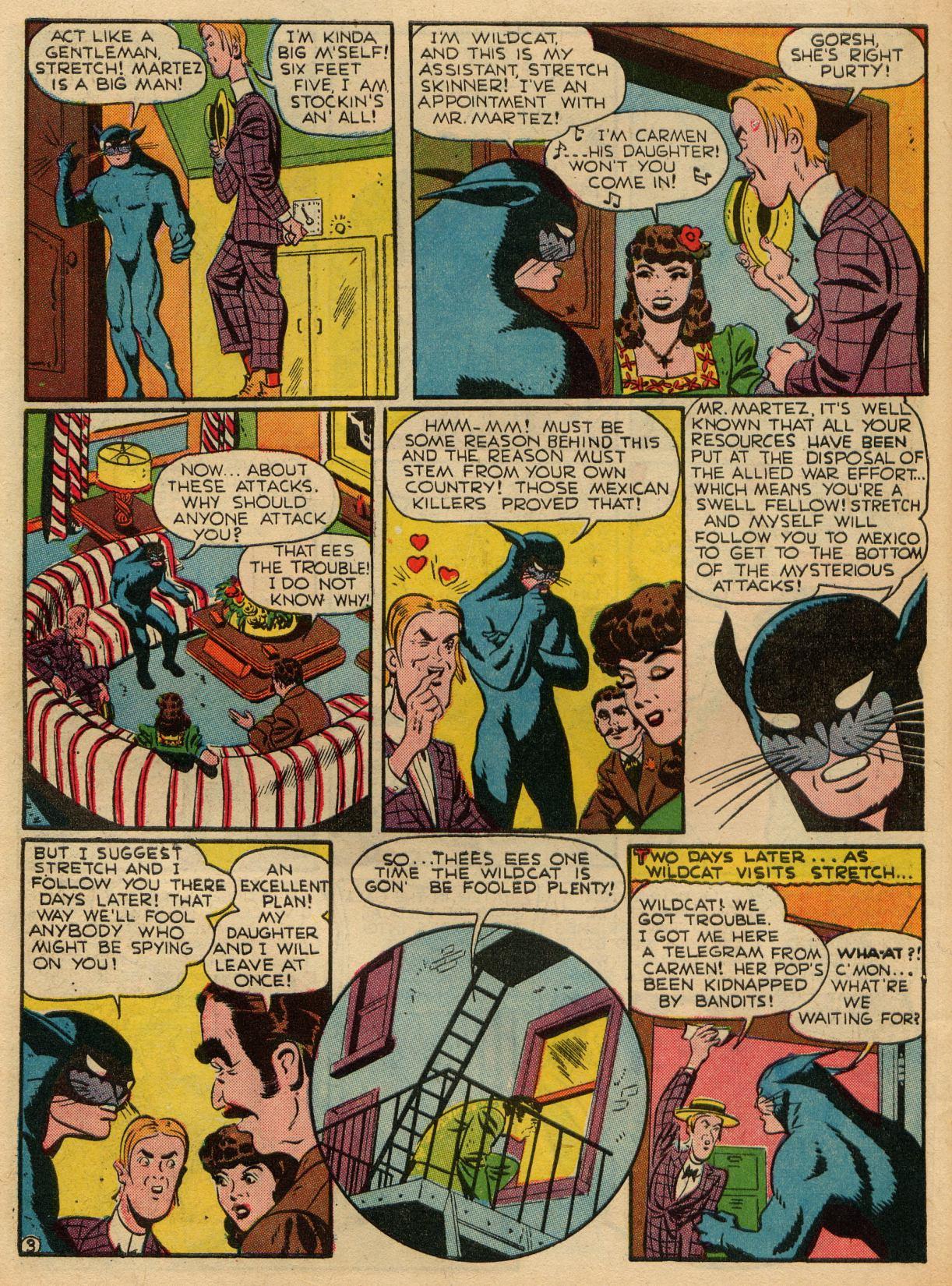 Read online Sensation (Mystery) Comics comic -  Issue #22 - 50