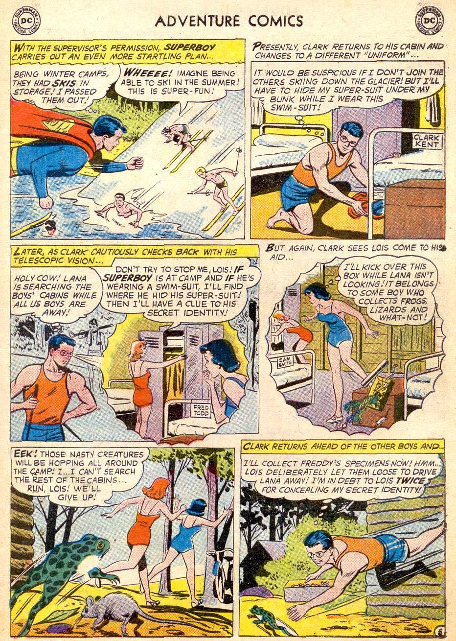 Read online Adventure Comics (1938) comic -  Issue #261 - 7