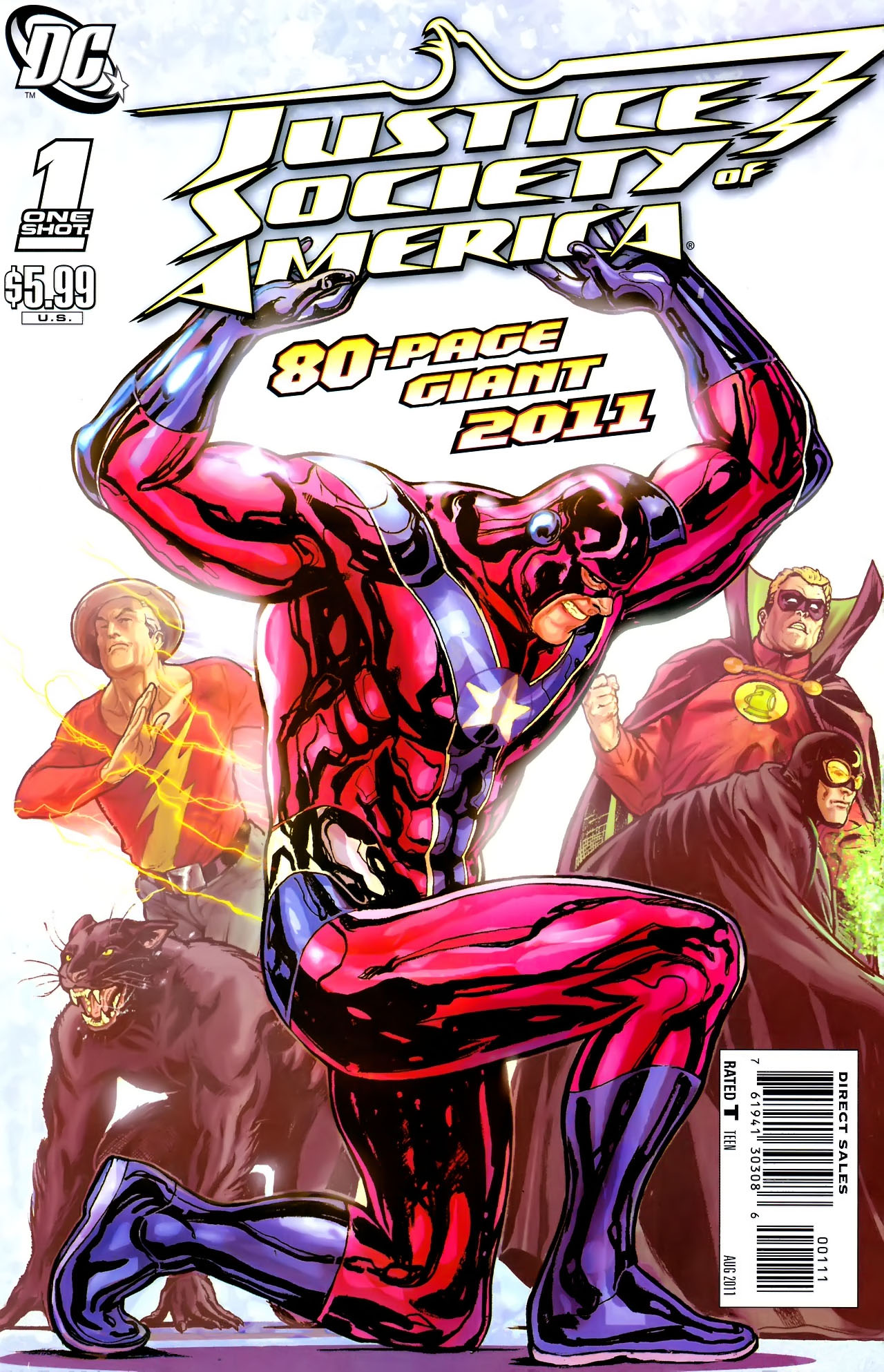 Read online JSA 80-Page Giant 2011 comic -  Issue # Full - 1