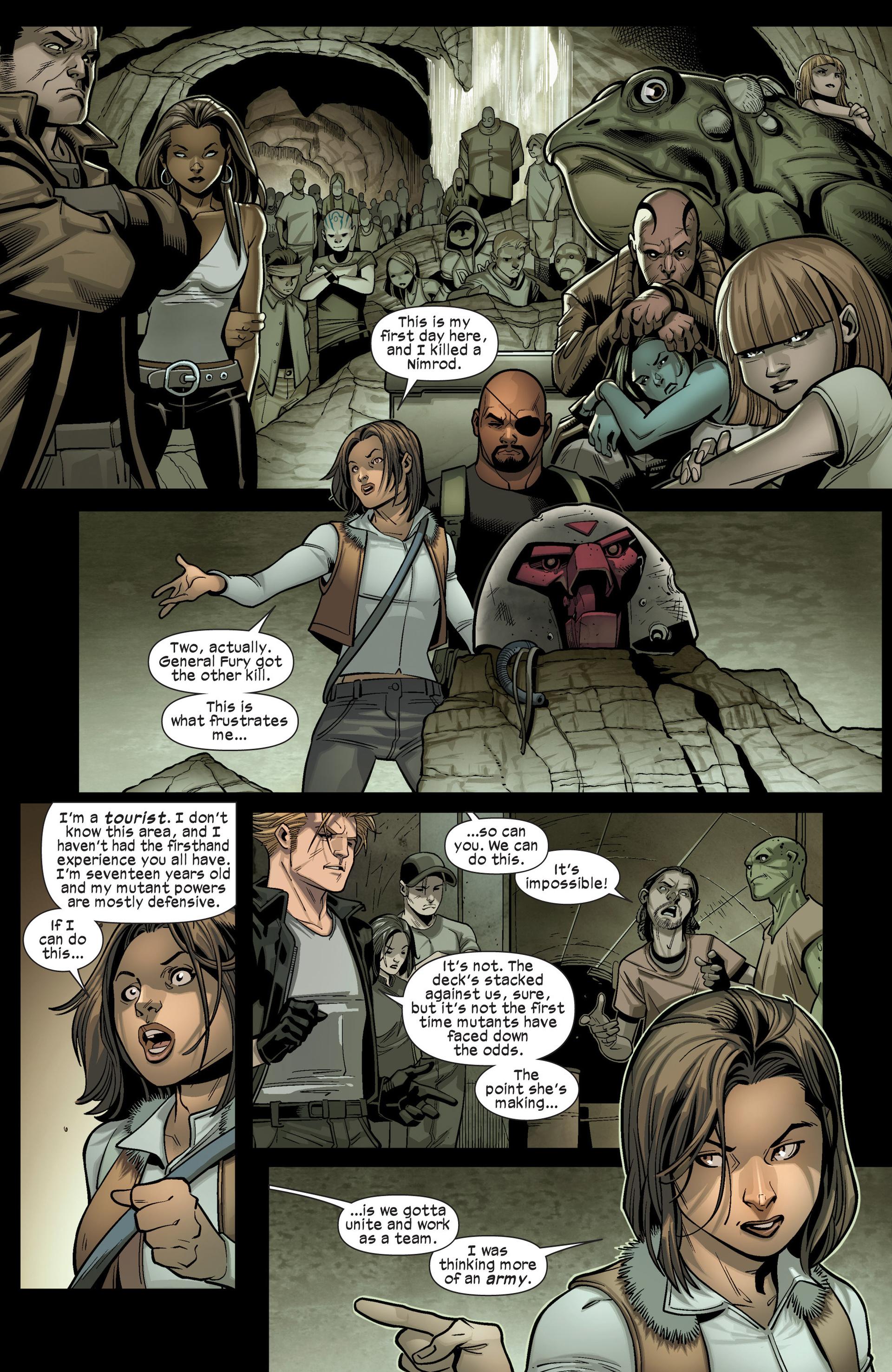Read online Ultimate Comics X-Men comic -  Issue #16 - 22