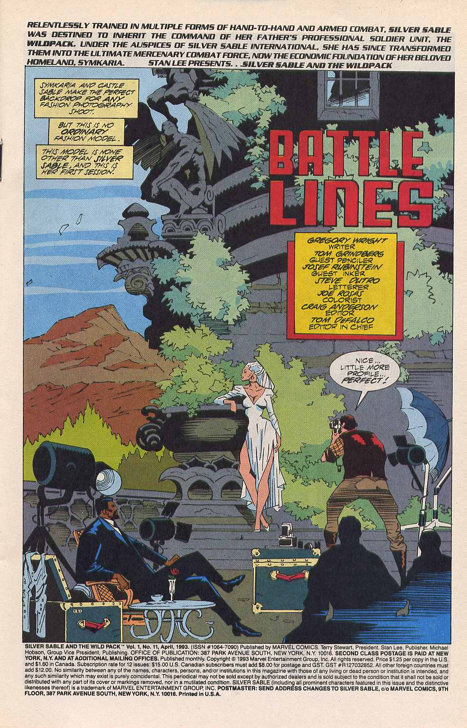 Read online Silver Sable and the Wild Pack comic -  Issue #11 - 2