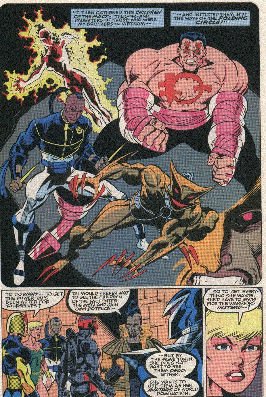 The New Warriors Issue #25 #29 - English 15