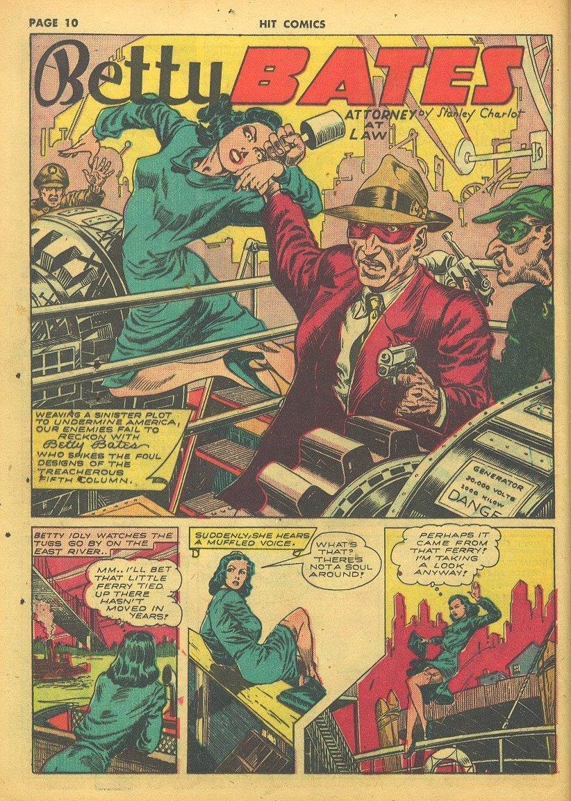 Read online Hit Comics comic -  Issue #24 - 12