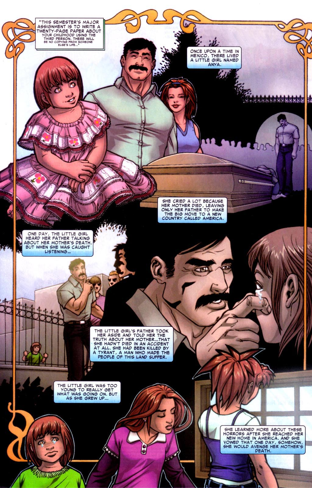 Read online Araña: Heart of the Spider comic -  Issue #7 - 3