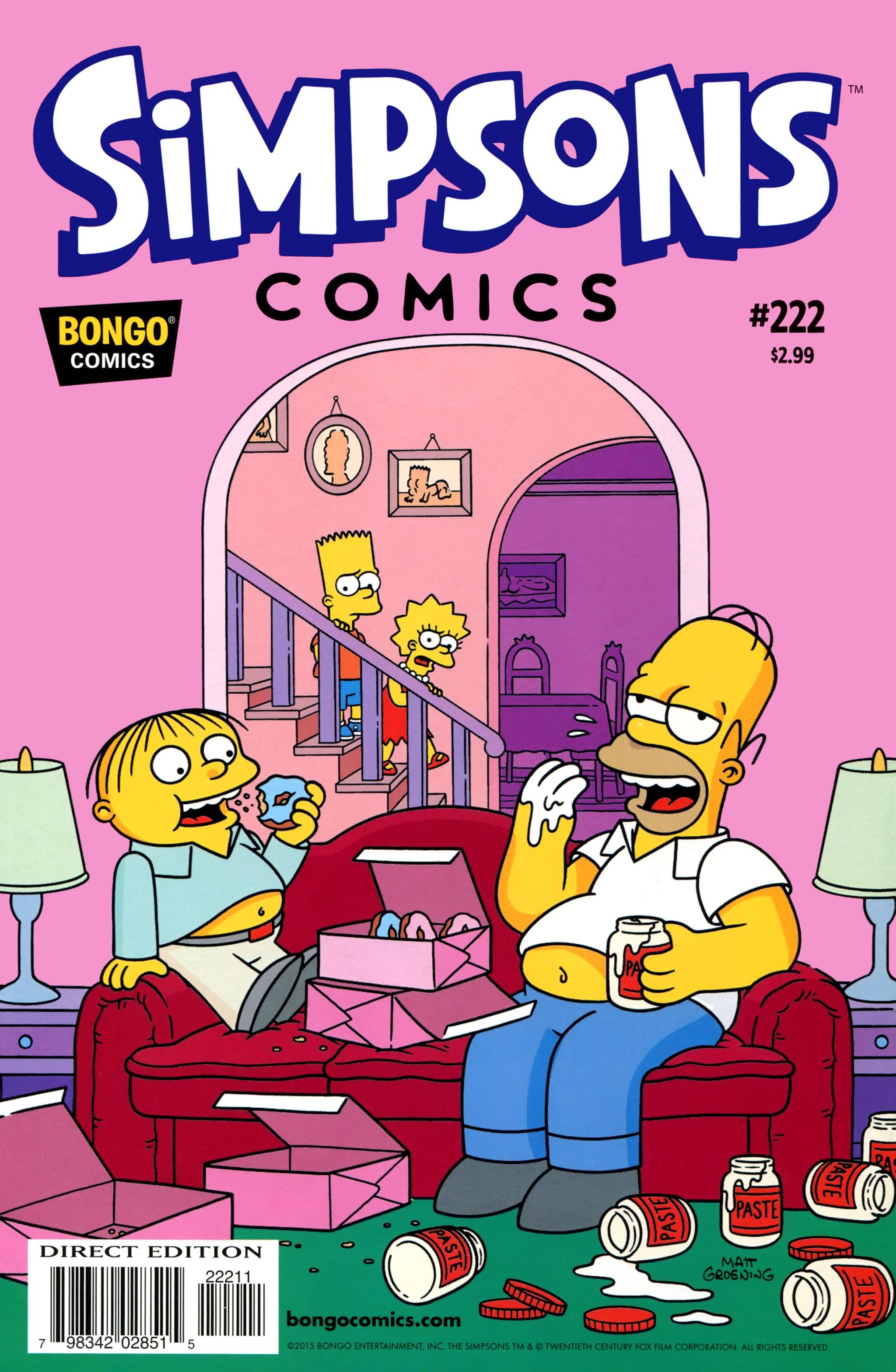 Simpsons Comics 222 Page 1
