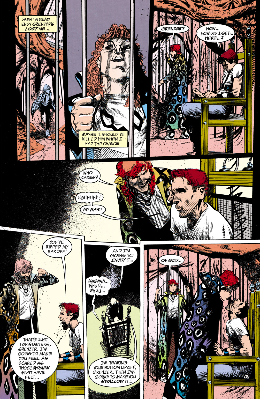 Read online Shade, the Changing Man comic -  Issue #13 - 13
