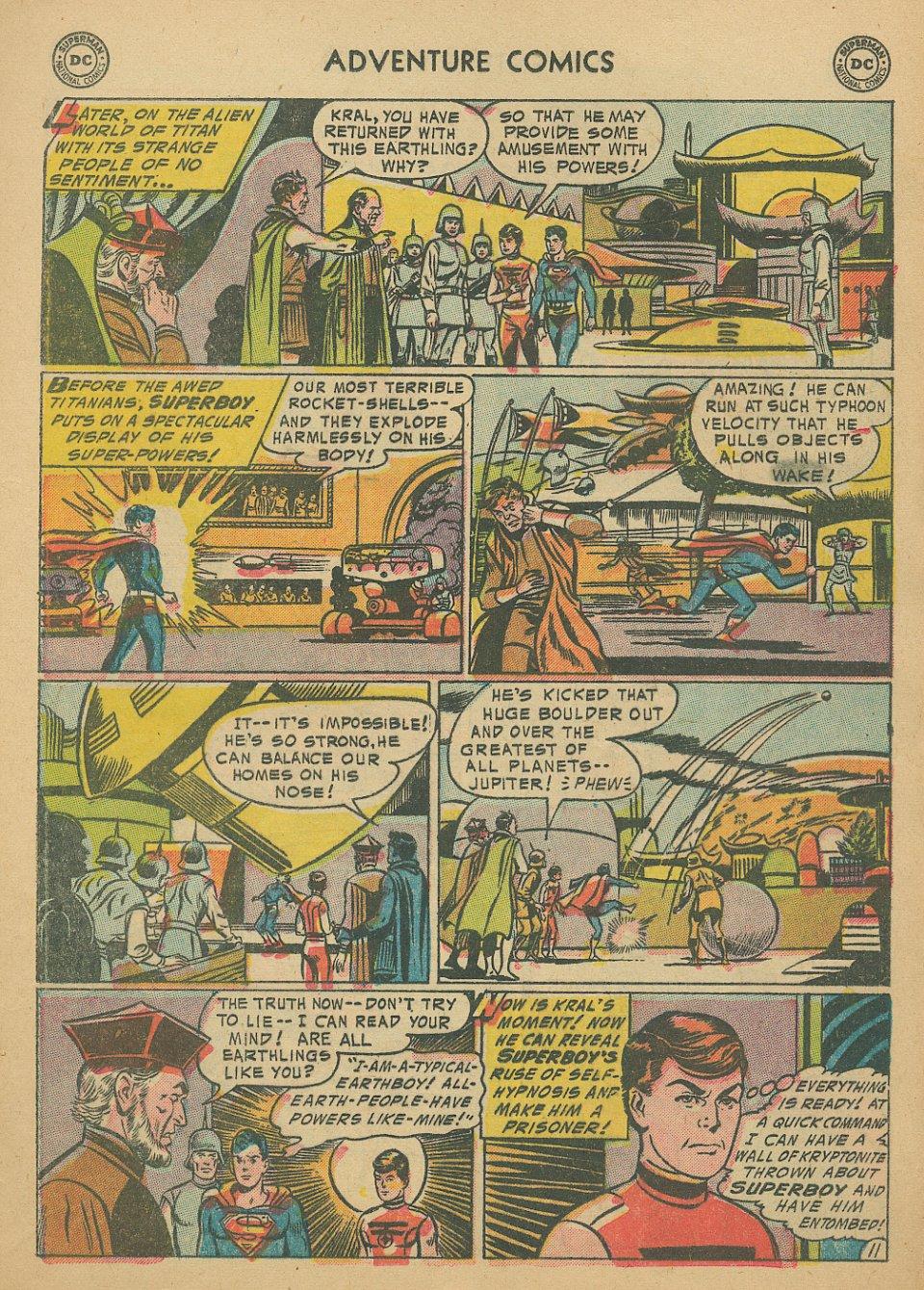 Read online Adventure Comics (1938) comic -  Issue #205 - 14